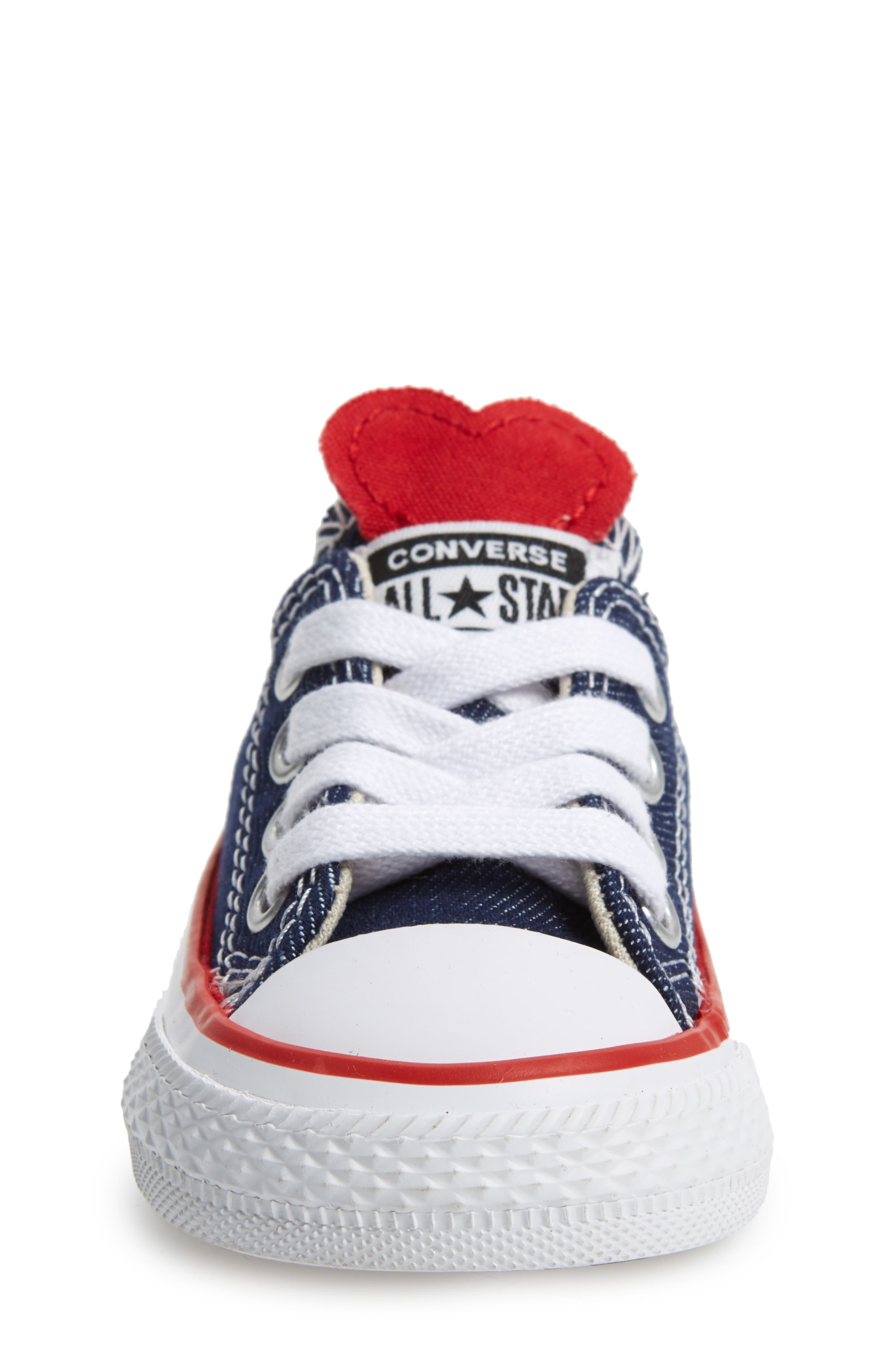CONVERSE, Chuck Taylor<sup>®</sup> All Star<sup>®</sup> Ox Low Top Sneaker, Alternate thumbnail 4, color, 410