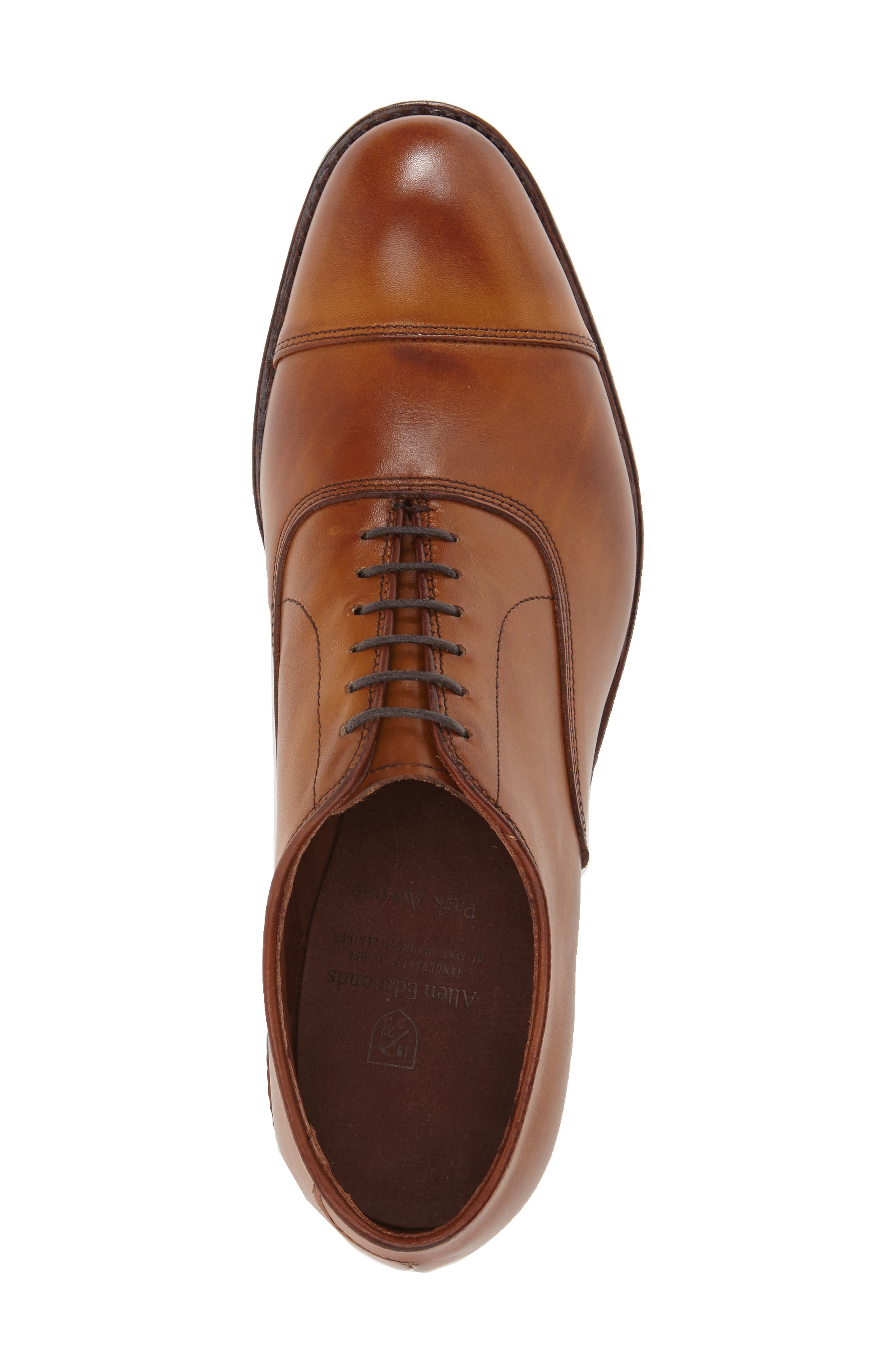 ALLEN EDMONDS, Park Avenue Oxford, Alternate thumbnail 2, color, WALNUT
