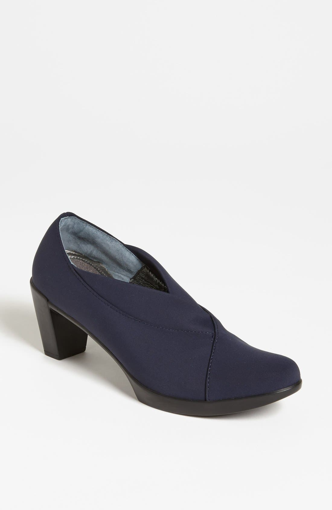 NAOT, 'Lucente' Pump, Main thumbnail 1, color, NAVY STRETCH