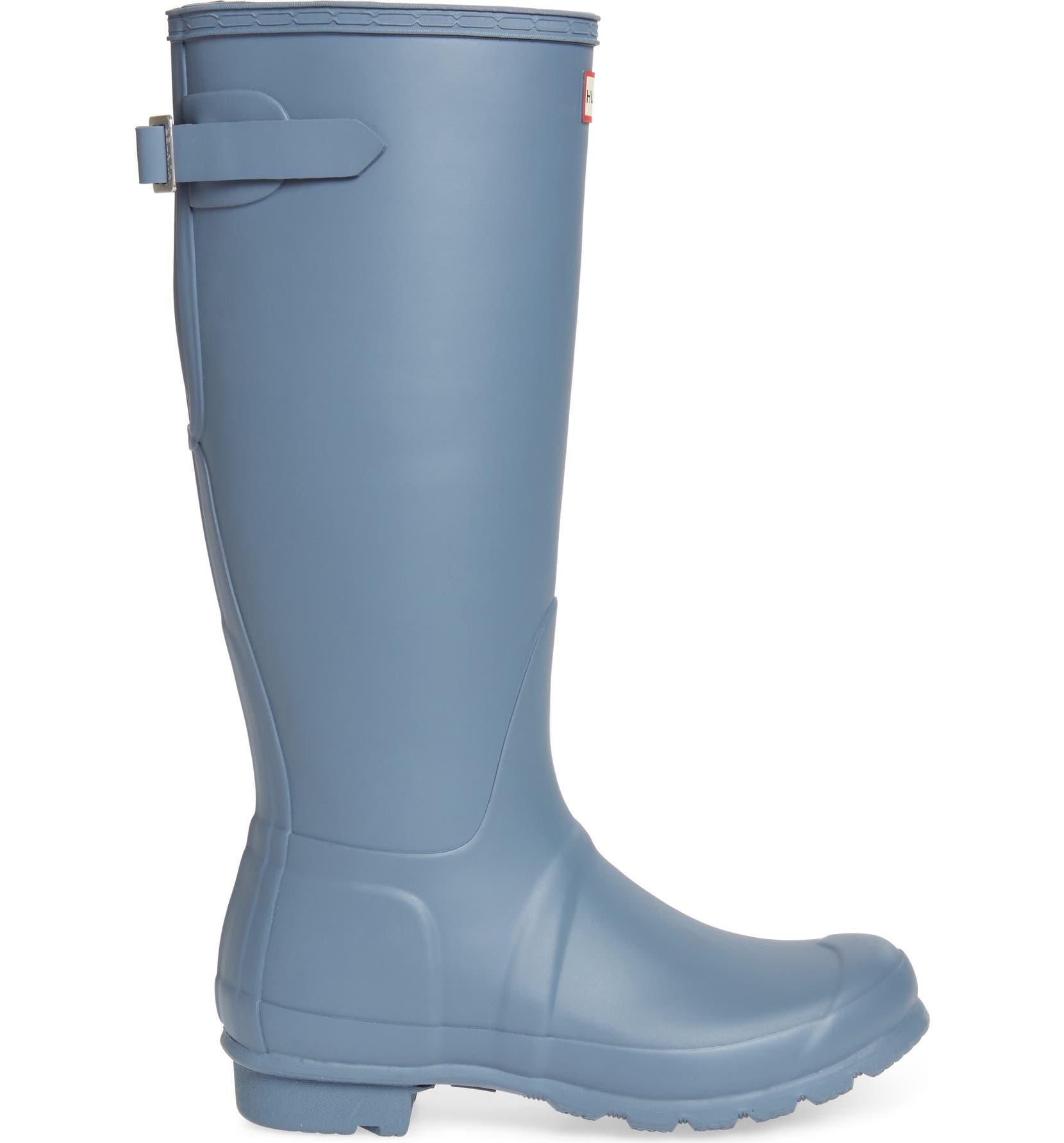 7c509e4d247 Hunter Original Tall Adjustable Back Waterproof Rain Boot (Women ...