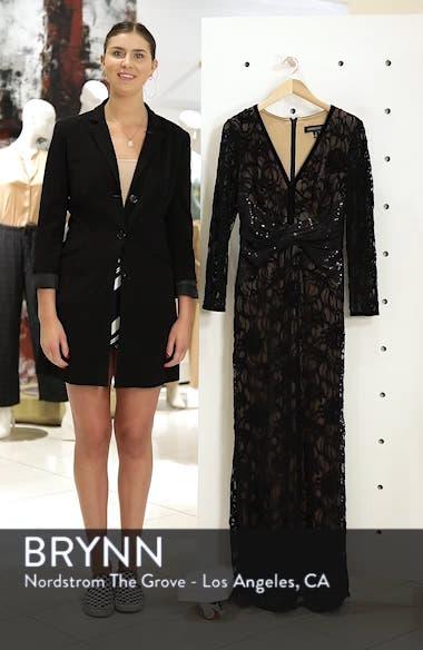 Burnout Lace Gown, sales video thumbnail