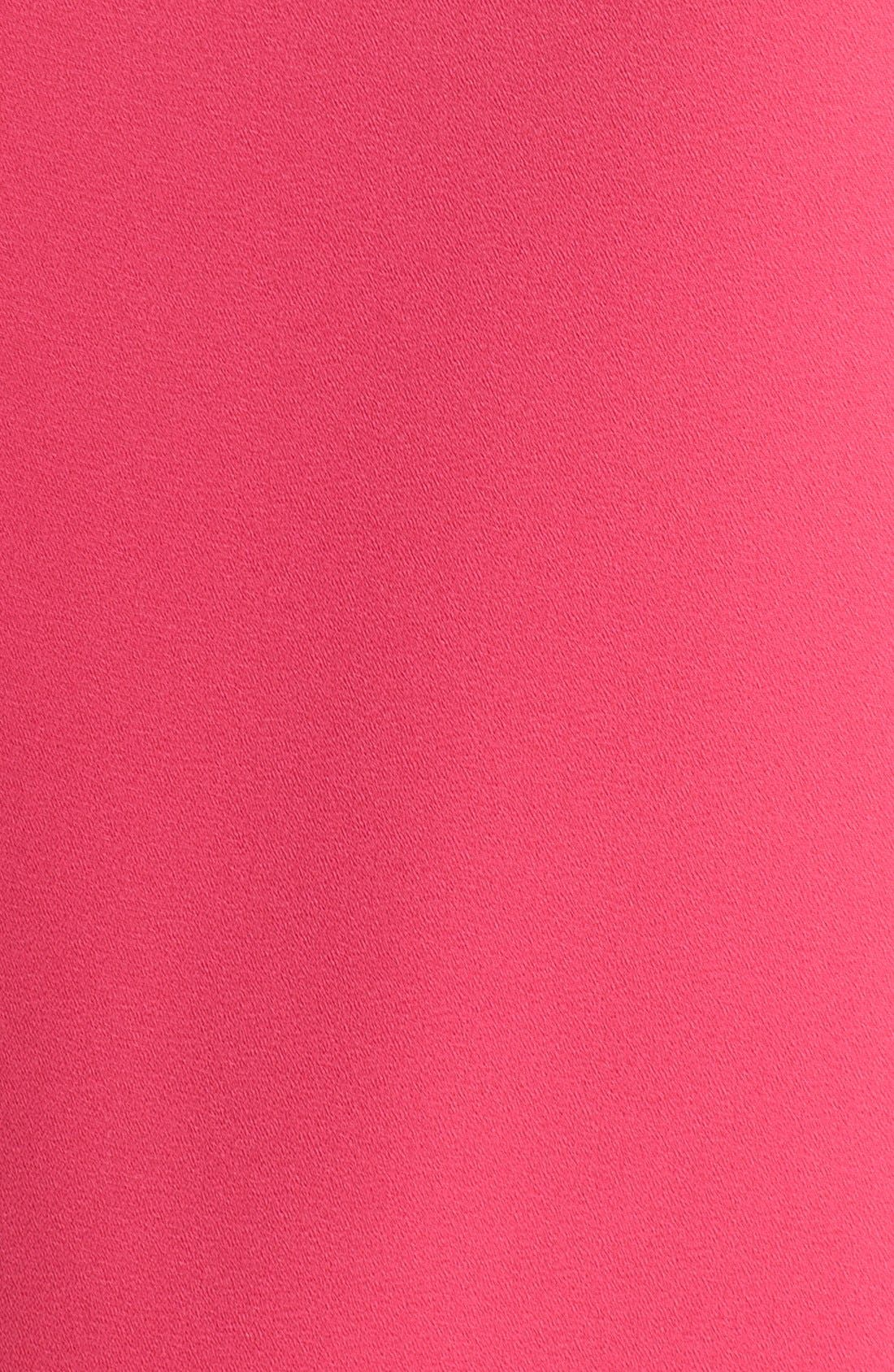VINCE CAMUTO, Cold Shoulder Shift Dress, Alternate thumbnail 4, color, 660