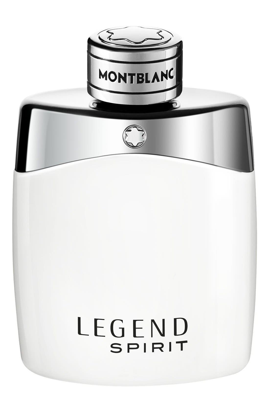 MONTBLANC, Legend Spirit Eau de Toilette, Main thumbnail 1, color, NO COLOR