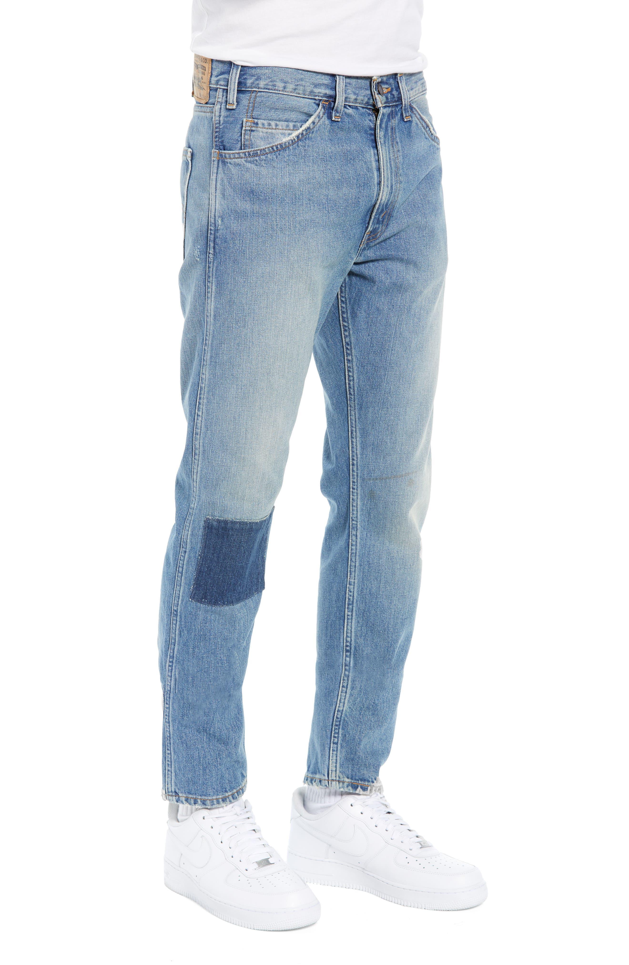 LEVI'S<SUP>®</SUP> VINTAGE CLOTHING, 1969 606<sup>™</sup> Slim Fit Jeans, Alternate thumbnail 3, color, 423