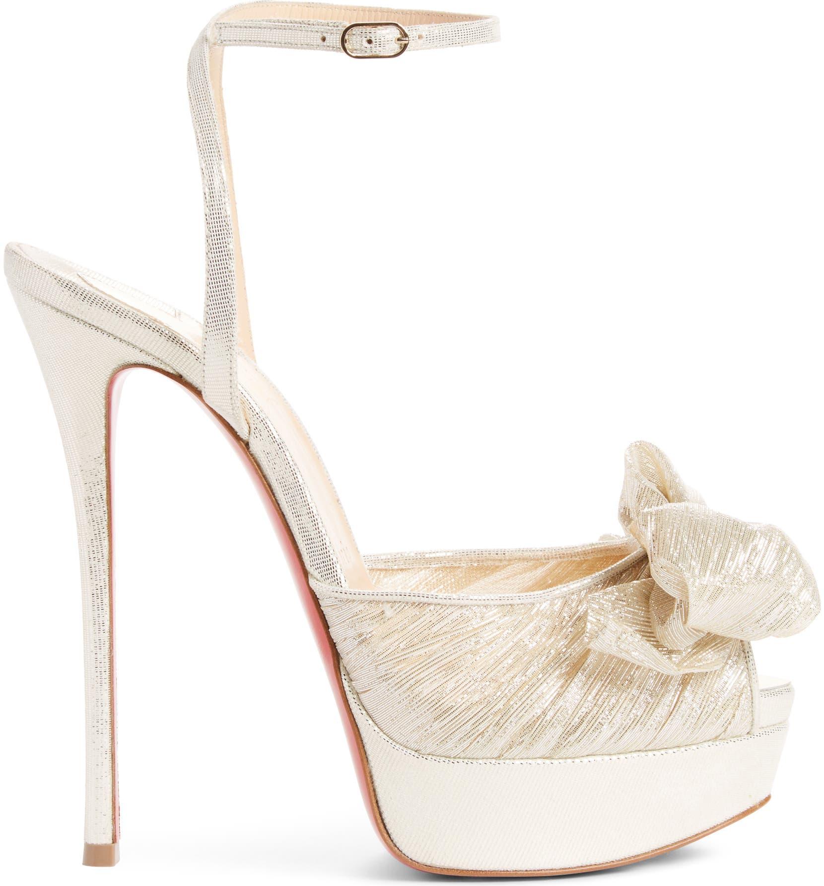 6dad61958e9 Christian Louboutin Artydiva Platform Ankle Strap Sandal (Women ...