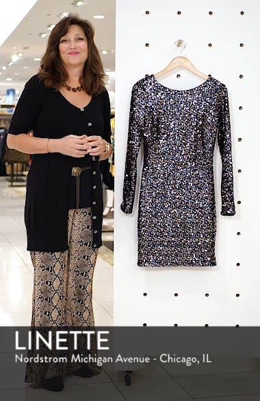 Bateau Neck Sequin Sheath Dress, sales video thumbnail