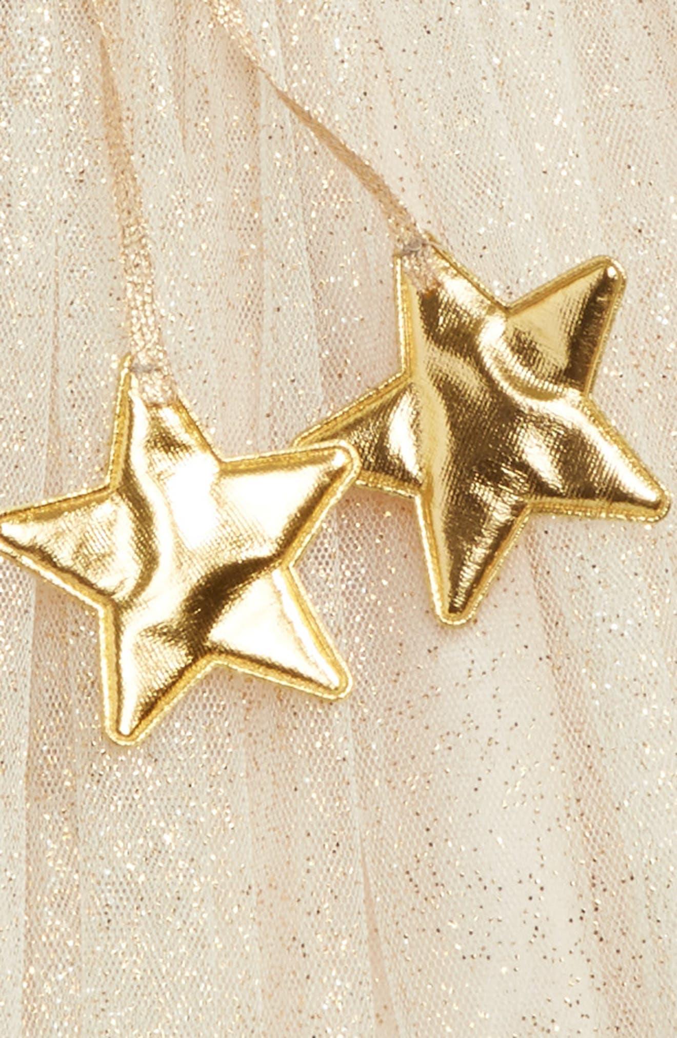 POPATU, Gold Glitter Star Tutu, Alternate thumbnail 2, color, 710