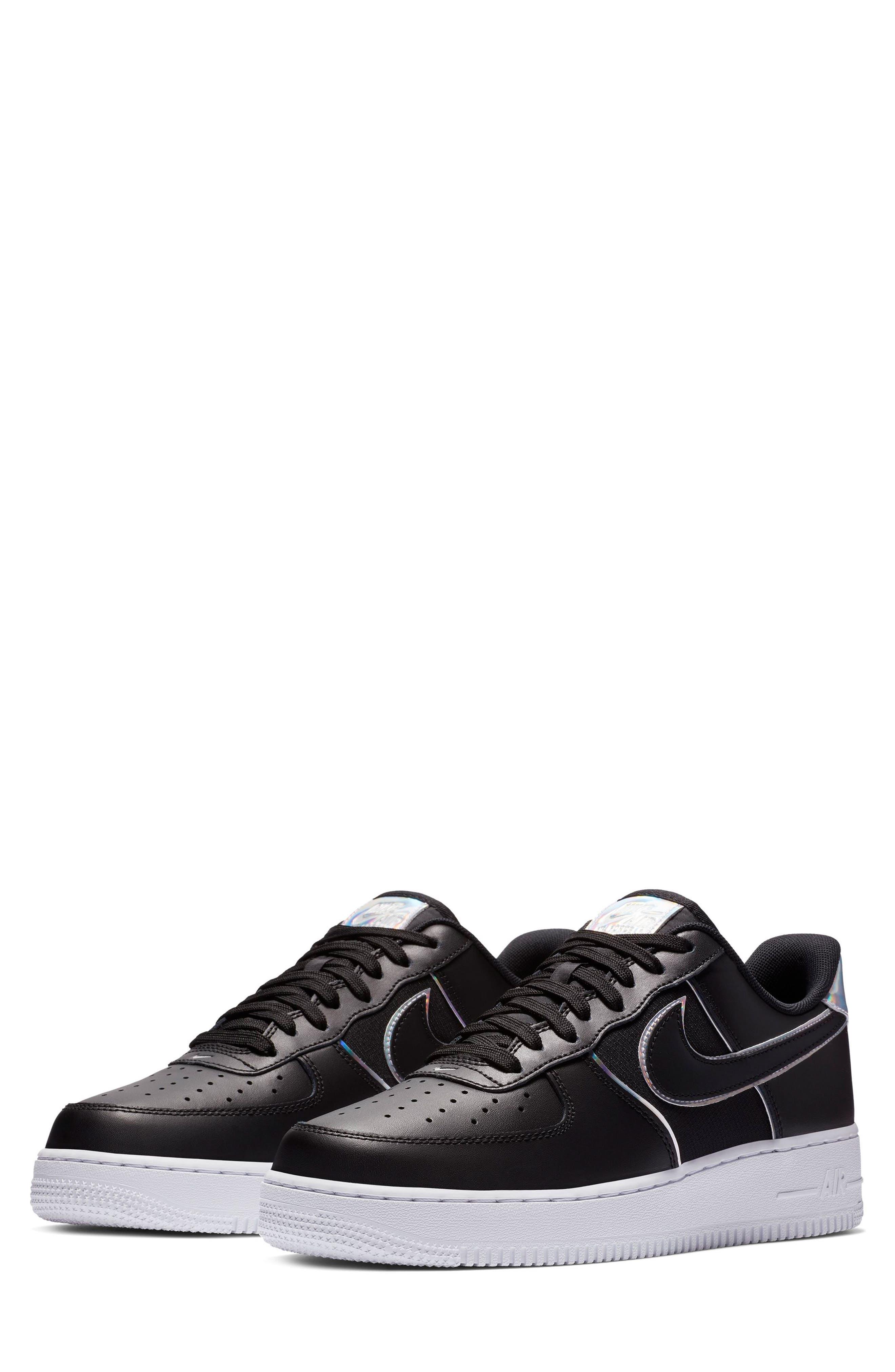 NIKE, Air Force 1 '07 LV8 4 Sneaker, Main thumbnail 1, color, 001