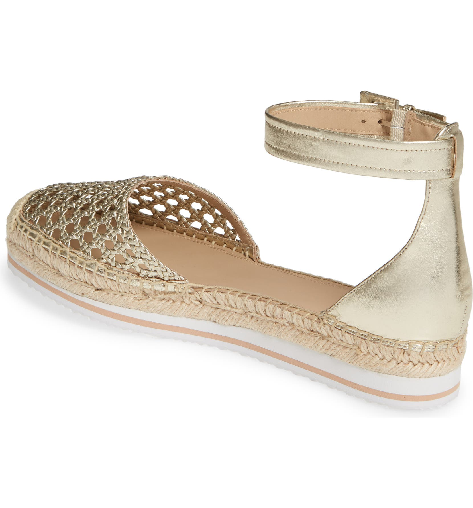 75a127efb645 Nordstrom Signature Rosi Flat Espadrille Sandal (Women)