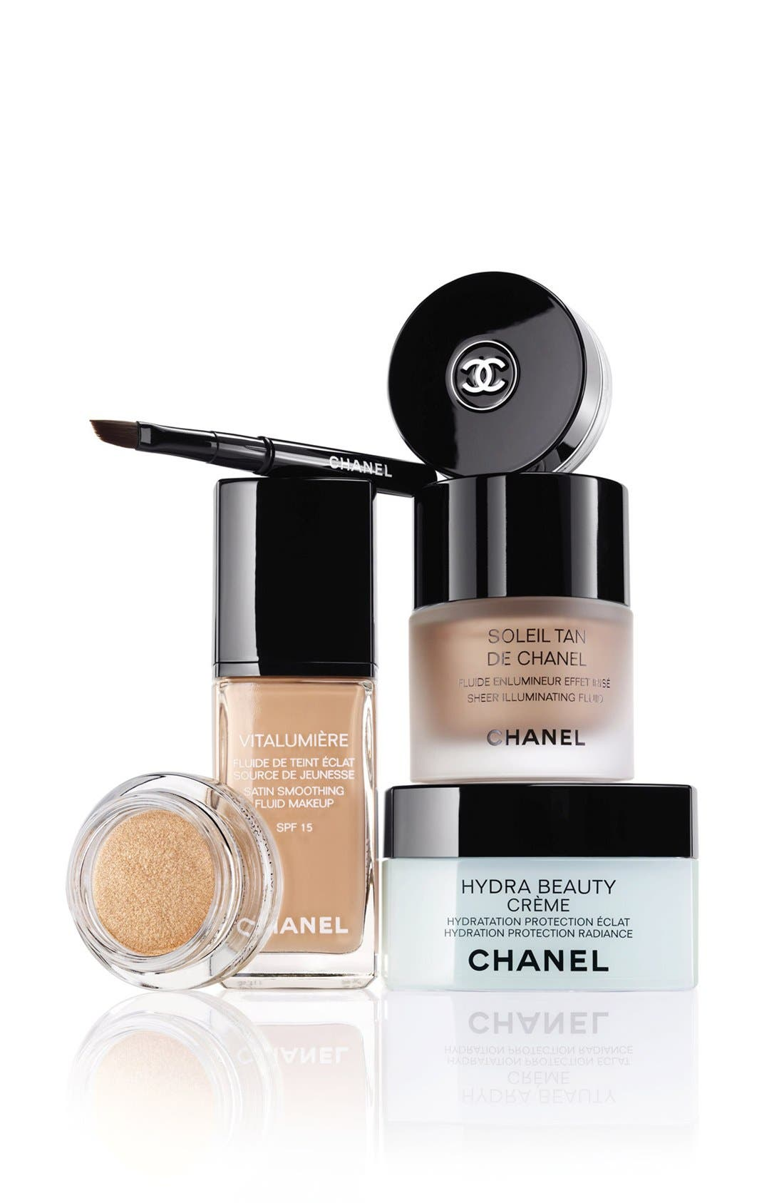 CHANEL, HYDRA BEAUTY CRÈME<br />Hydration Protection Radiance, Alternate thumbnail 3, color, NO COLOR