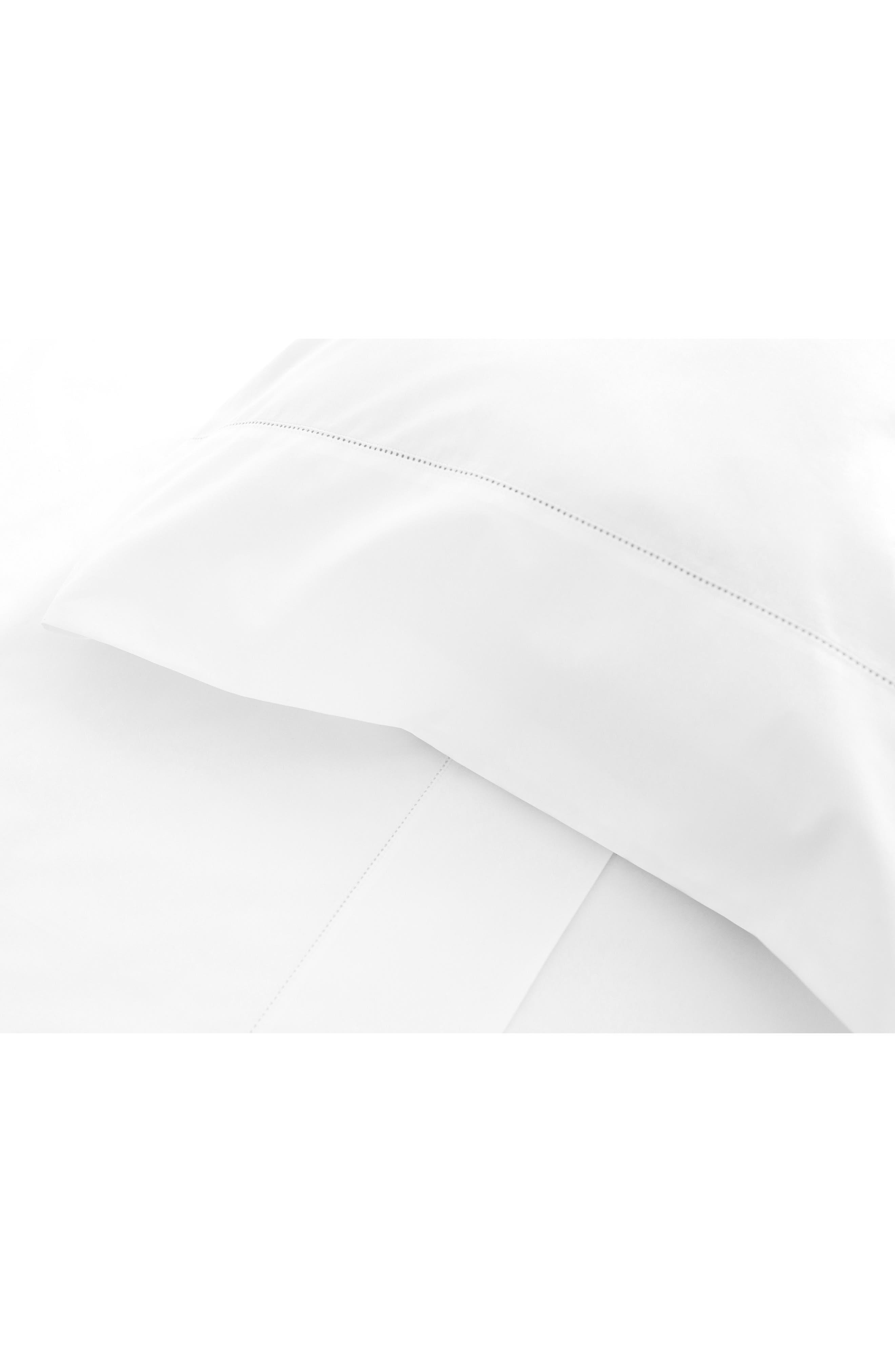 SIGNORIA FIRENZE, Tuscan Dreams 400 Thread Count Set of 2 Pillowcases, Alternate thumbnail 3, color, WHITE