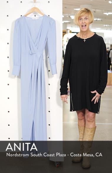 Garden Stroll Wrap Maxi Dress, sales video thumbnail