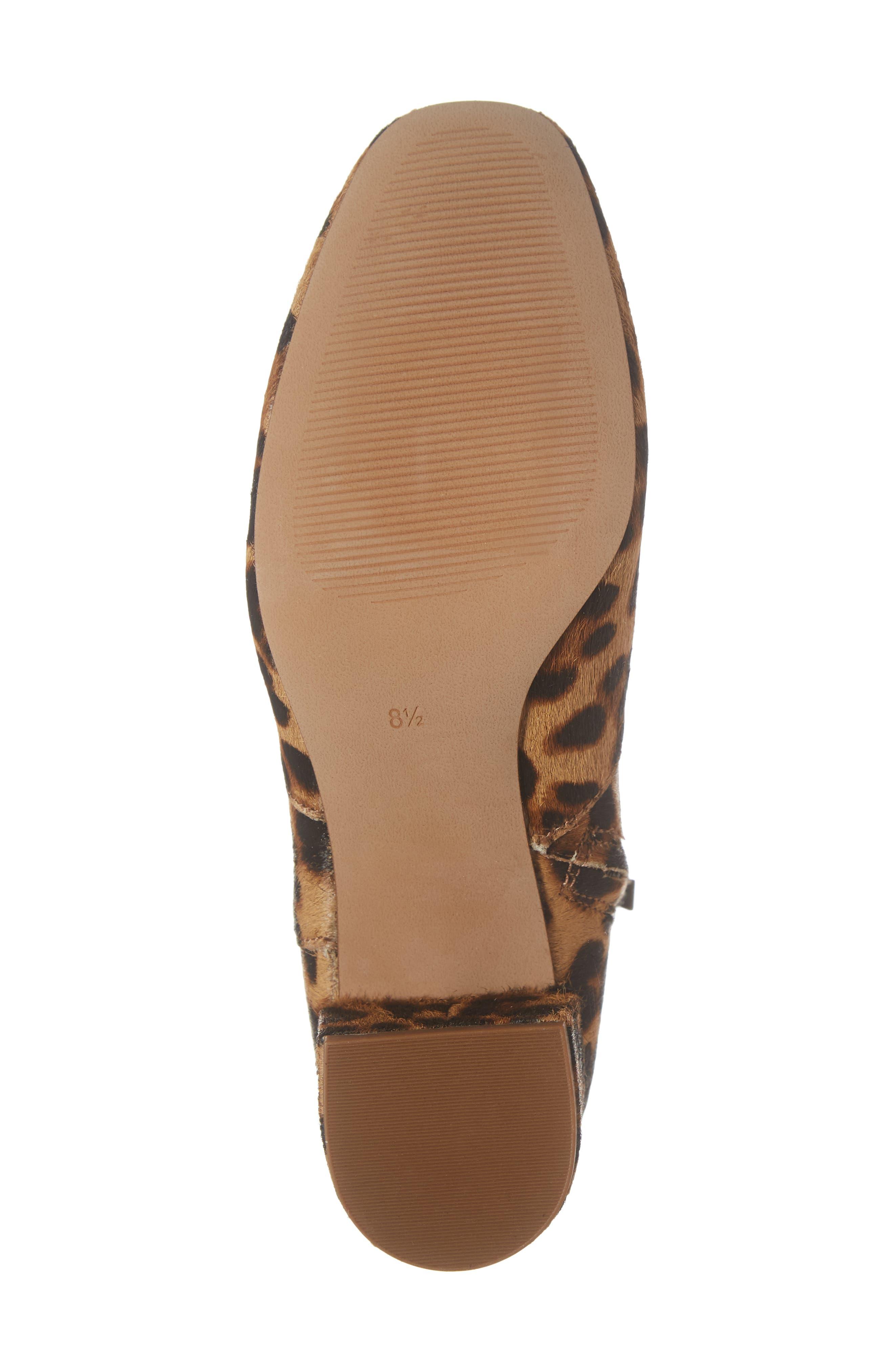 MADEWELL, The Jada Genuine Calf Hair Boot, Alternate thumbnail 6, color, 200