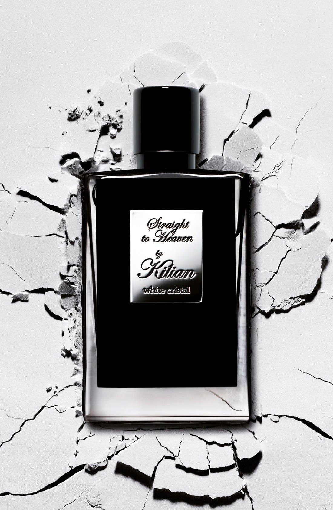 KILIAN, 'L'Oeuvre Noire - Straight to Heaven, white cristal' Refillable Fragrance Spray, Alternate thumbnail 3, color, NO COLOR