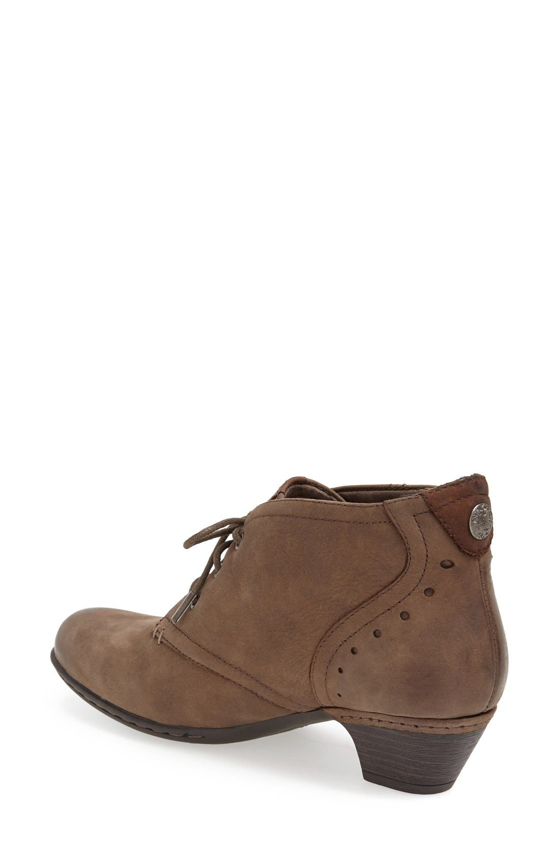 ROCKPORT COBB HILL, Aria Leather Boot, Alternate thumbnail 2, color, STONE
