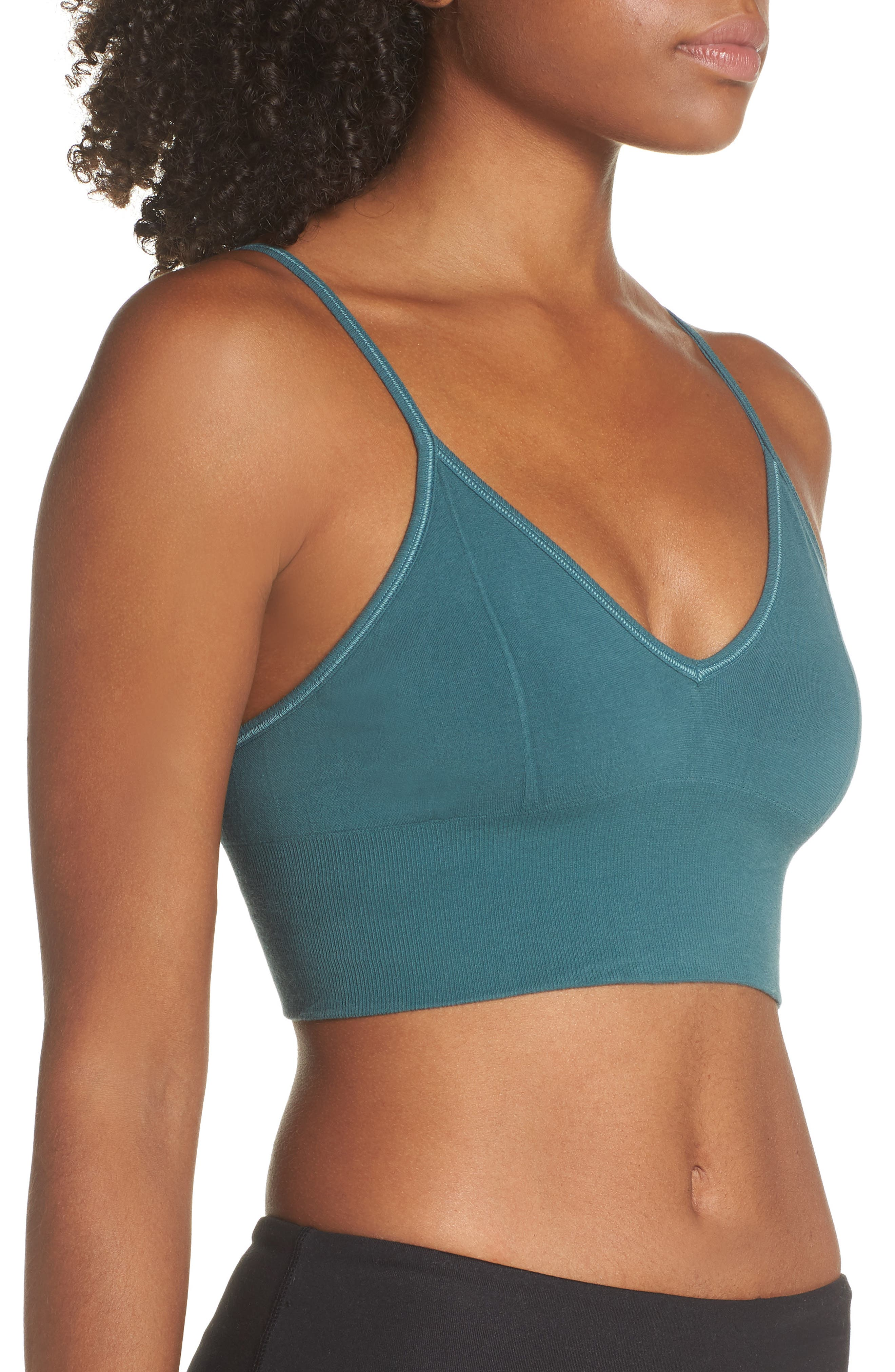 ALO, Delight Sports Bra, Alternate thumbnail 4, color, 442