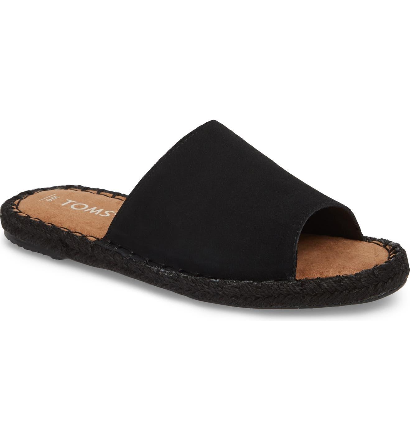 d0ed1d61cba TOMS Clarita Espadrille Slide Sandal (Women)