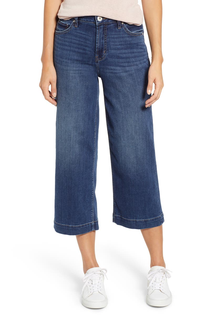 Jag Jeans Jeans LYDIA HIGH WAIST WIDE LEG CROP JEANS