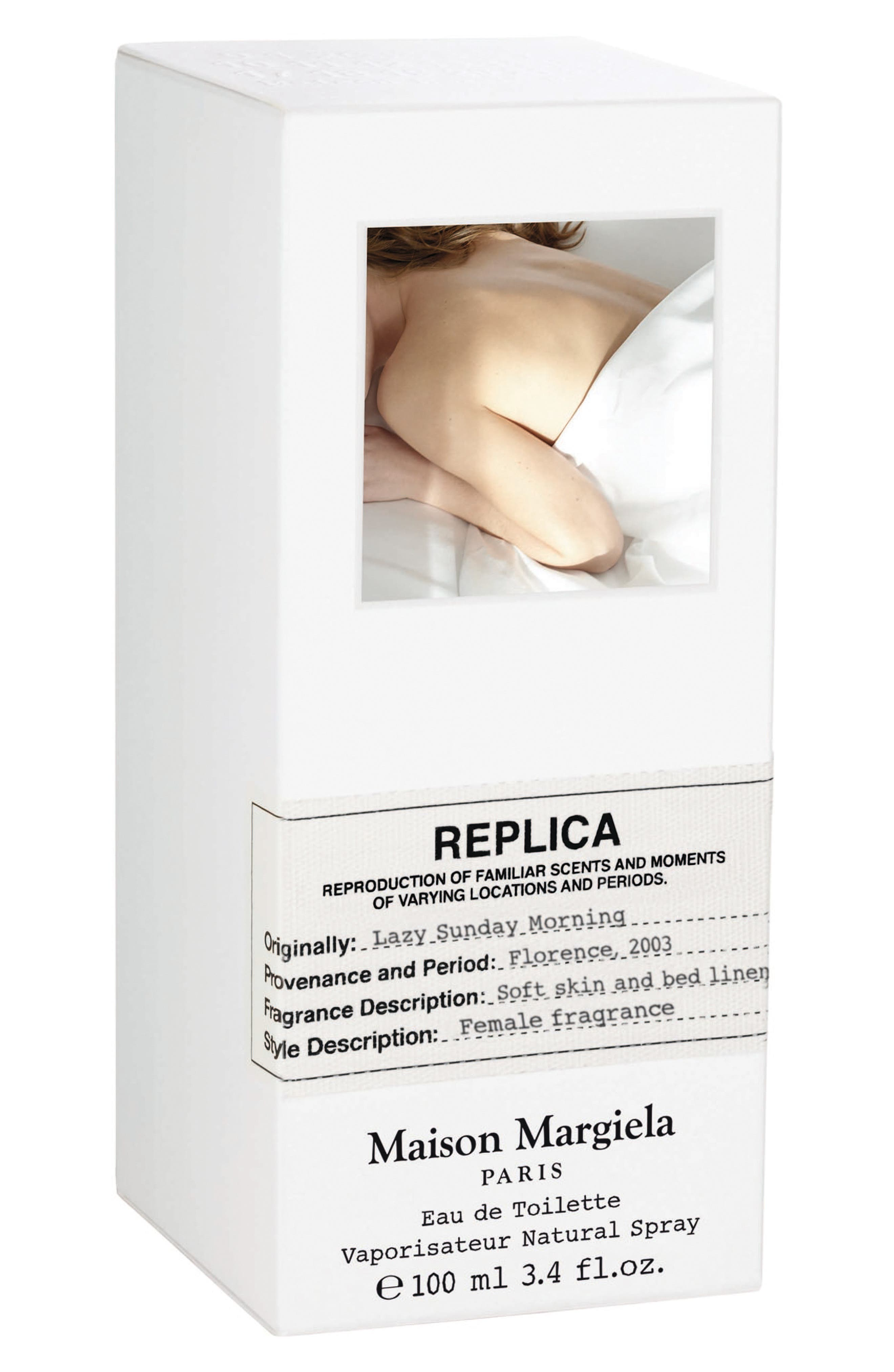 MAISON MARGIELA, Replica Lazy Sunday Morning Fragrance, Alternate thumbnail 2, color, NO COLOR