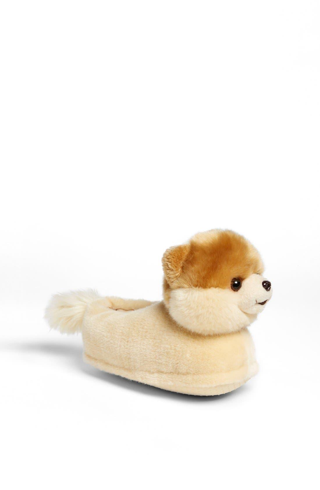 SG FOOTWEAR, 'Boo - The World's Cutest Dog' Slipper, Main thumbnail 1, color, 200