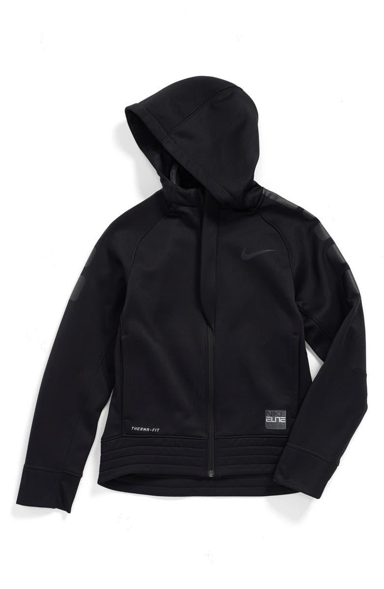 6d8a55ac20f5 Nike  Elite  Stripe Hoodie (Little Boys   Big Boys)