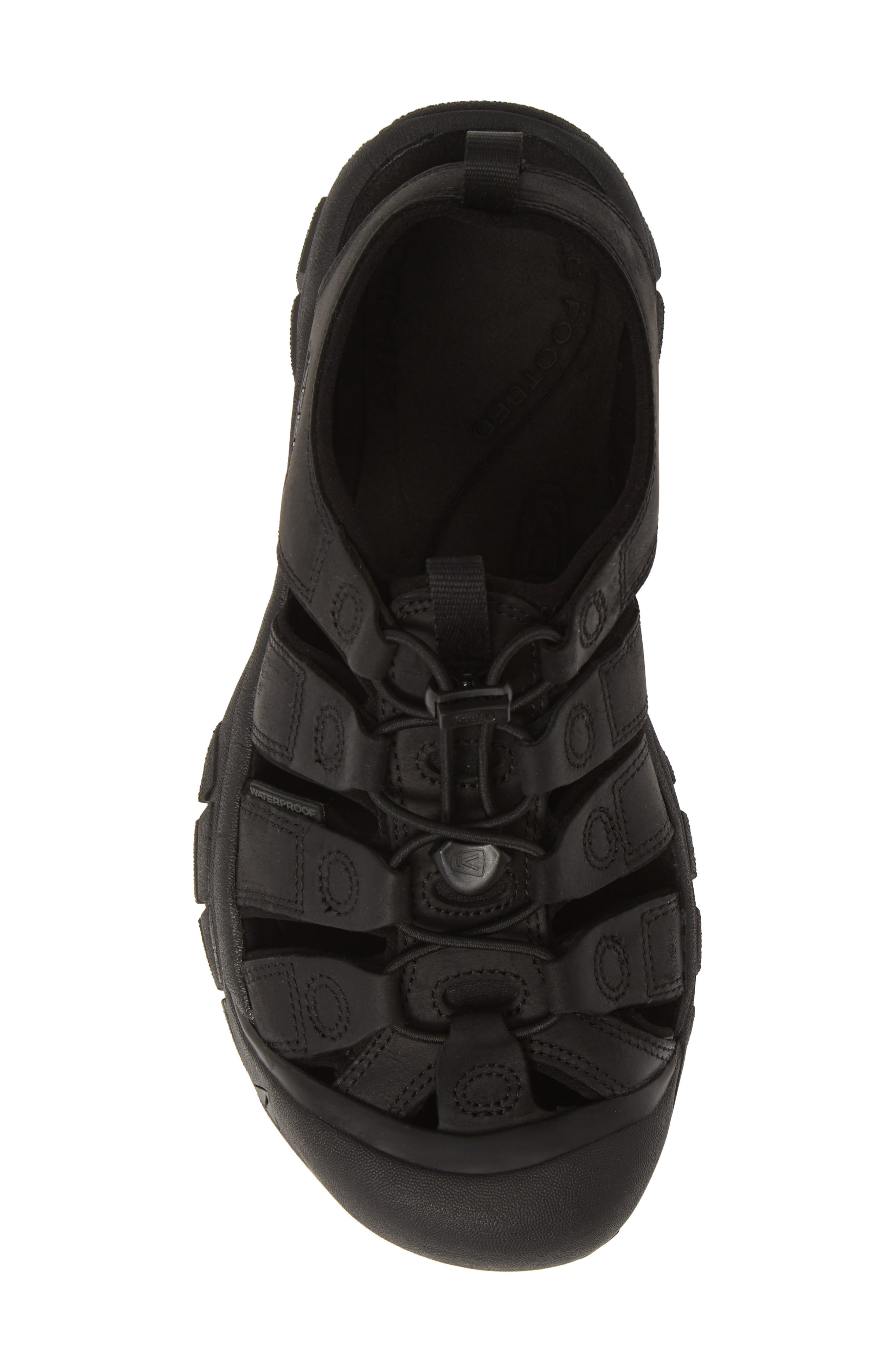 KEEN, 'Newport' Sandal, Alternate thumbnail 5, color, BLACK/ BLACK