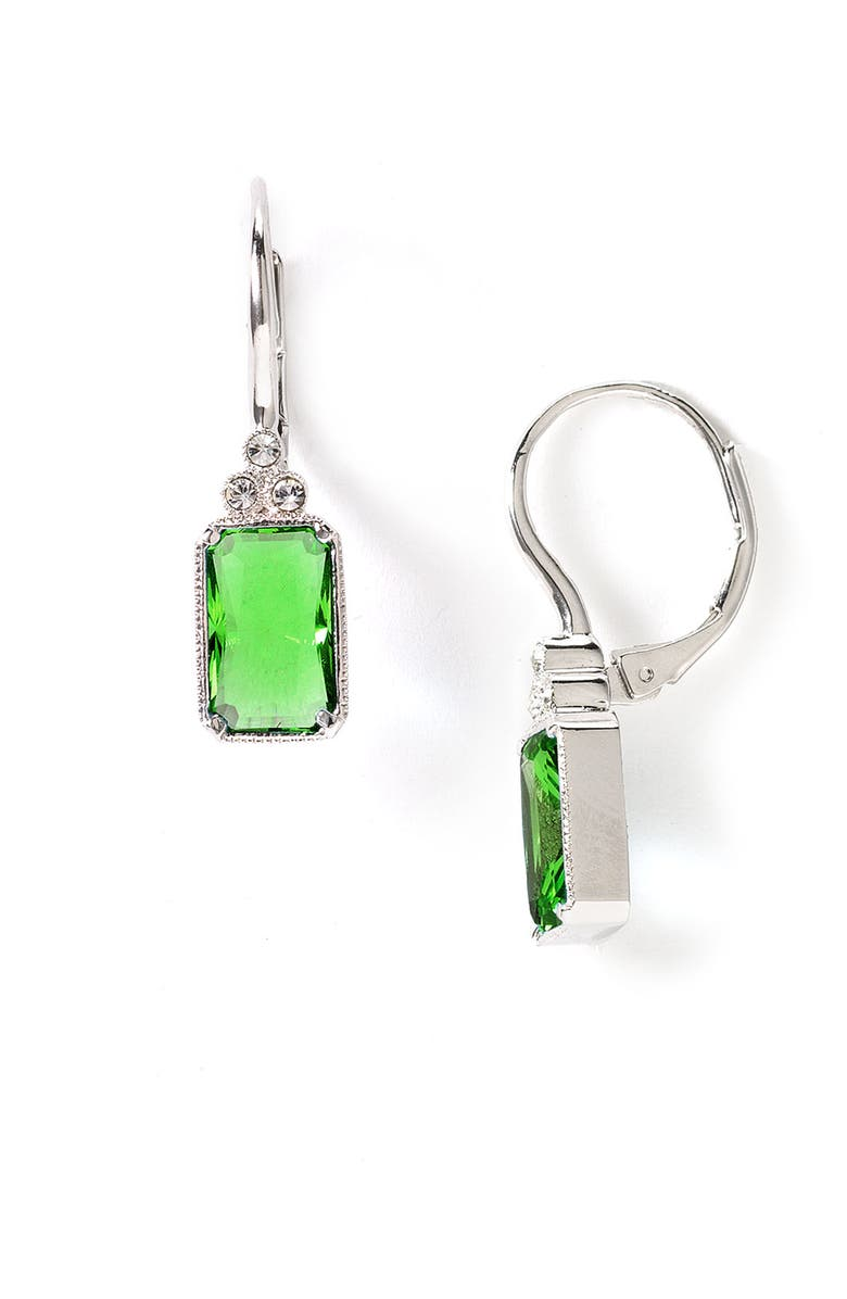 Nadri La Mer Emerald Cut Earrings Main Color