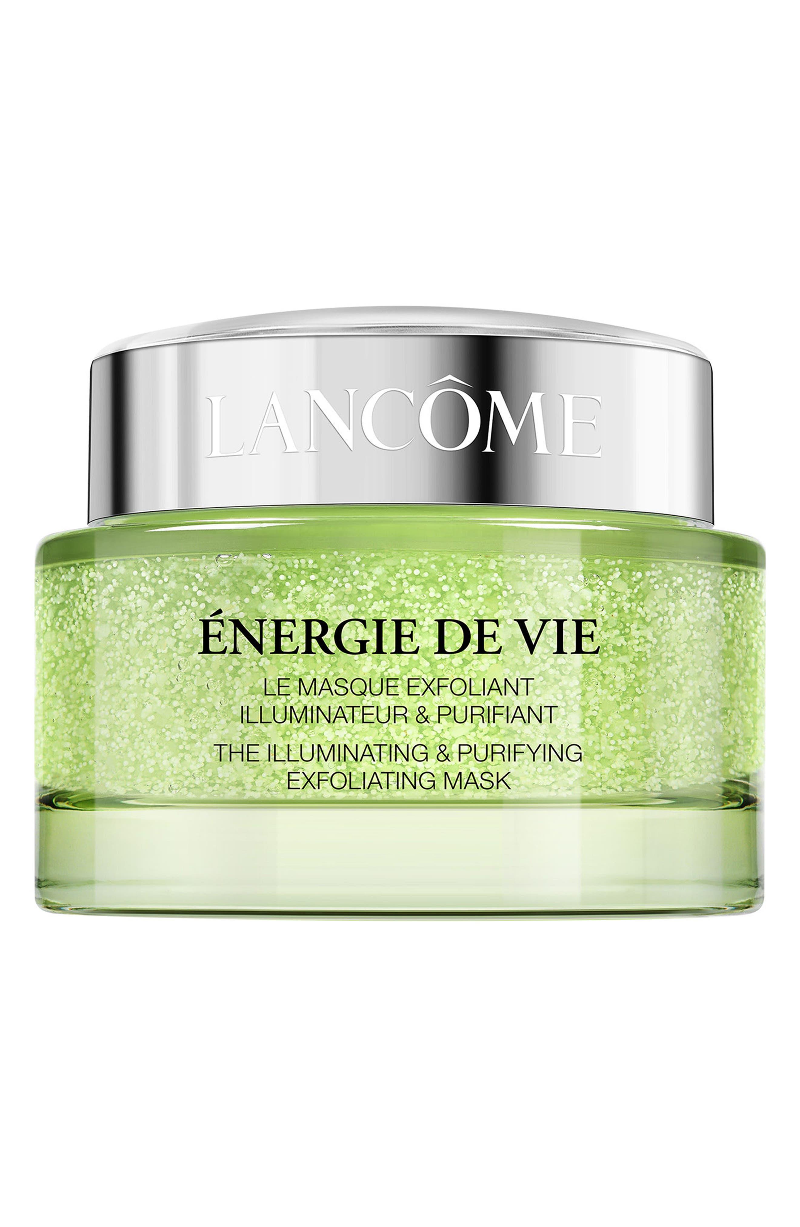 LANCÔME, Energie de Vie The Illuminating & Purifying Exfoliating Mask, Main thumbnail 1, color, NO COLOR