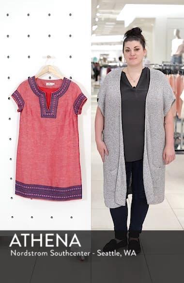 5e1536d5df5 ... Embellished Cotton & Linen Tunic Dress, sales video thumbnail ...