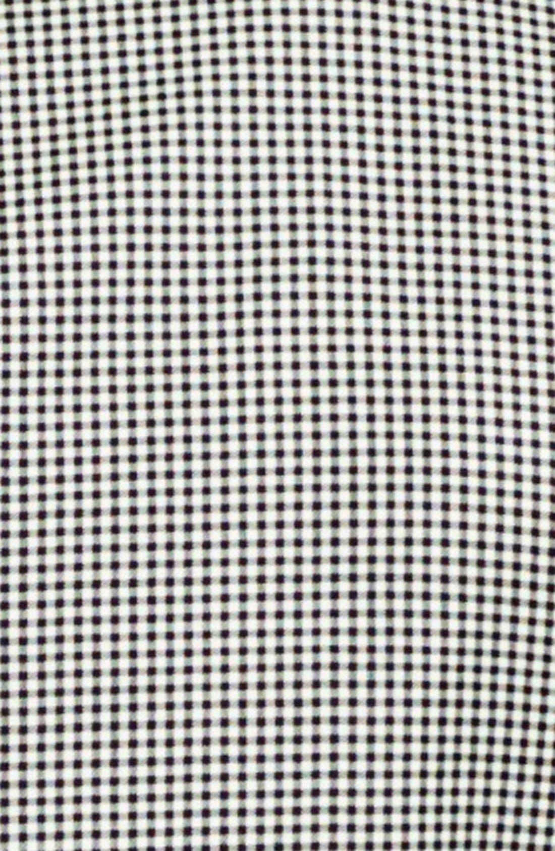 BONOBOS, Trim Fit Check Wool Dinner Jacket, Alternate thumbnail 5, color, 001