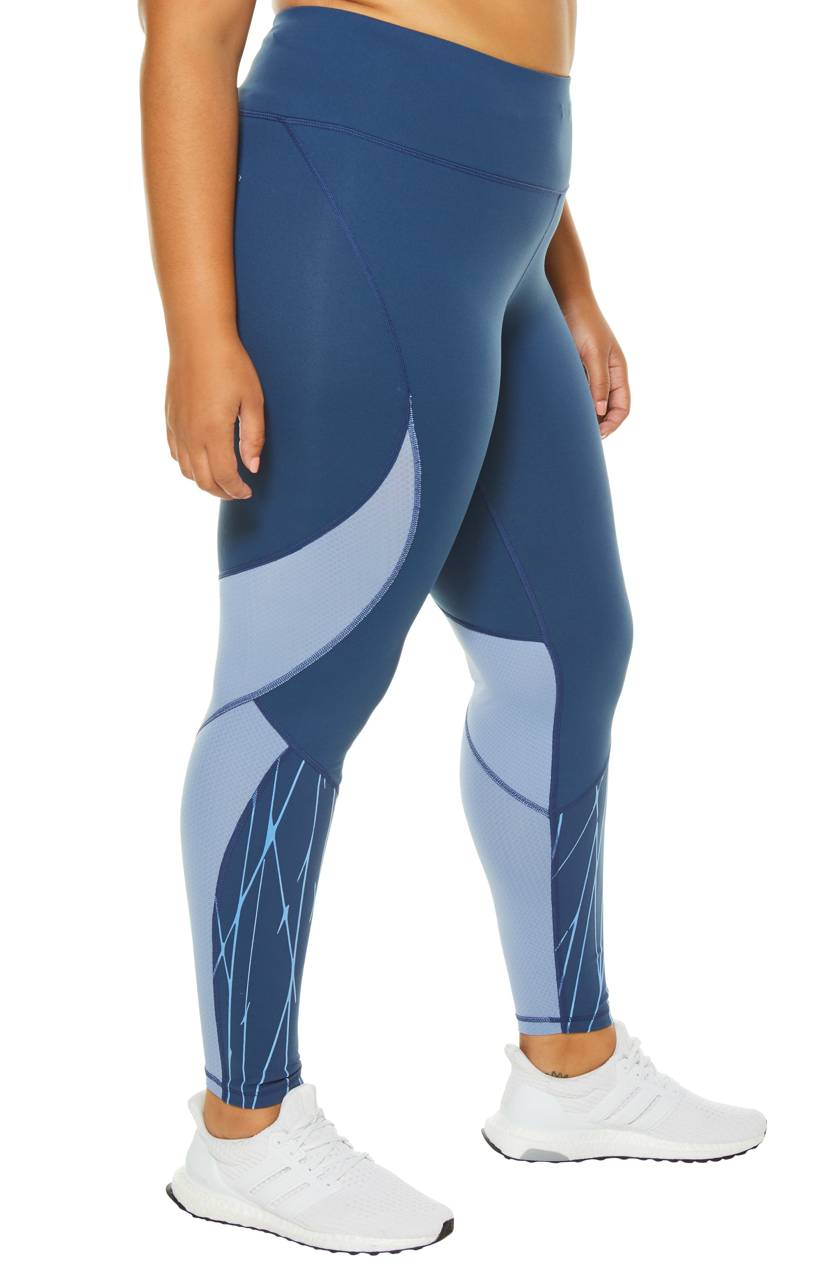 SHAPE ACTIVEWEAR, Stealth Leggings, Alternate thumbnail 4, color, INSIGNIA