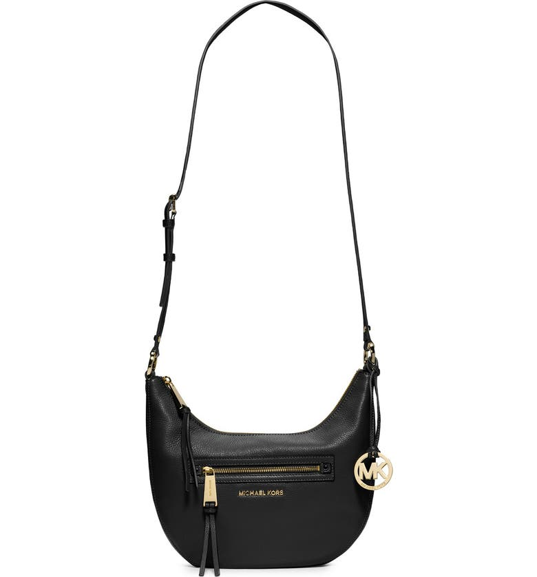 2f6ac2e8c0fe MICHAEL MICHAEL KORS 'Small Rhea' Zip Detail Shoulder Bag, Main, color,