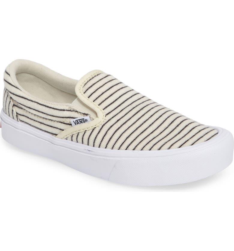 2f1e136d7d8434 Vans Authentic Lite Stripe Slip-On Sneaker (Women)