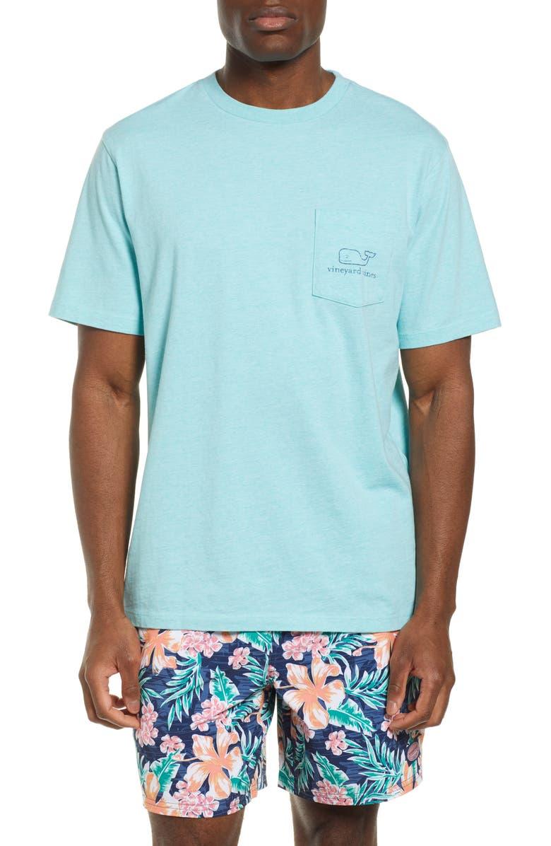 Vineyard Vines T-shirts VINTAGE WHALE POCKET T-SHIRT