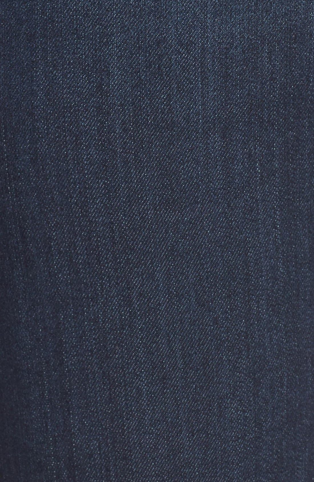 WIT & WISDOM, Ab-solution Stretch Skinny Jeans, Alternate thumbnail 8, color, INDIGO
