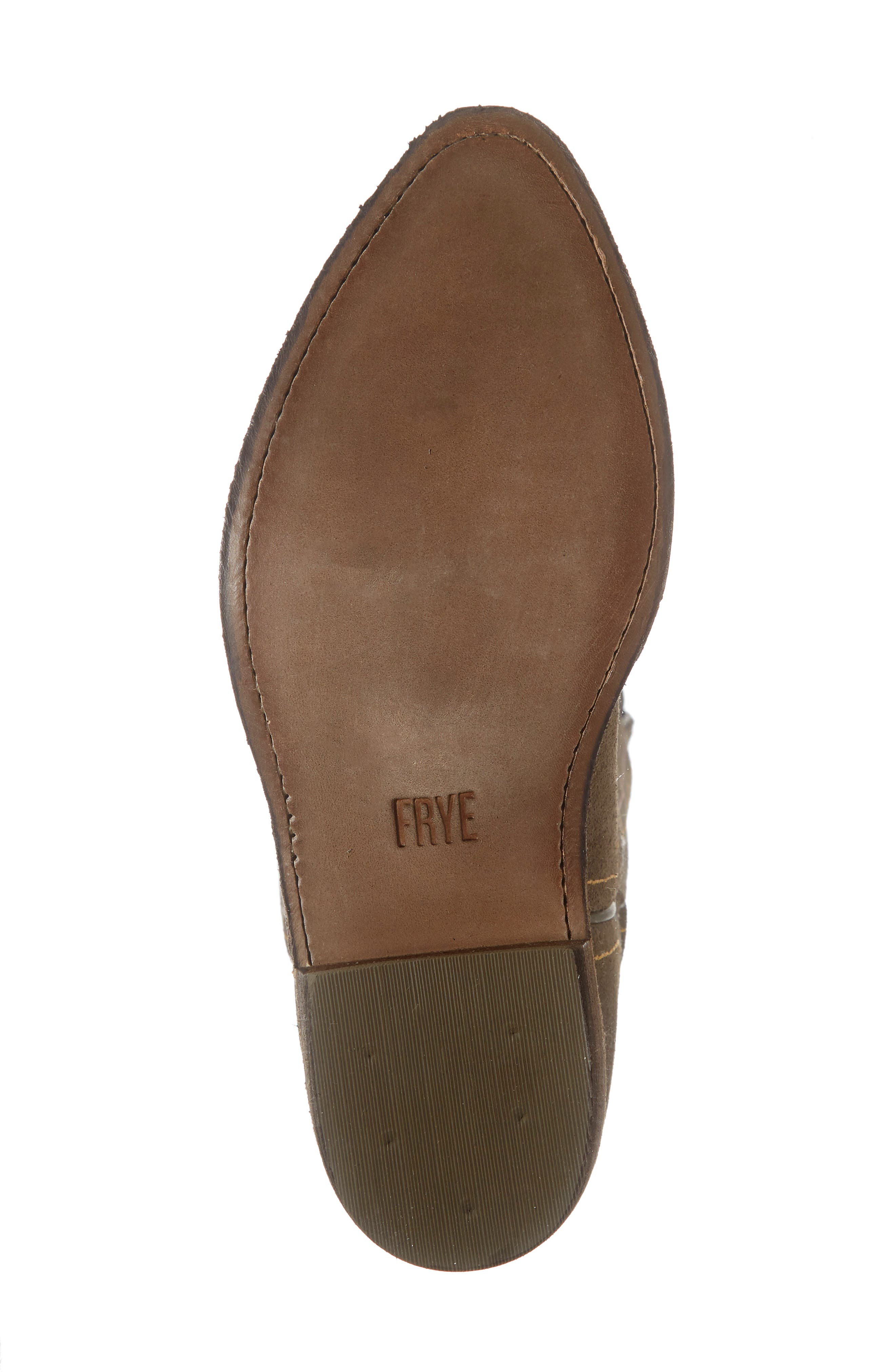 FRYE, Billy Western Boot, Alternate thumbnail 6, color, ELEPHANT