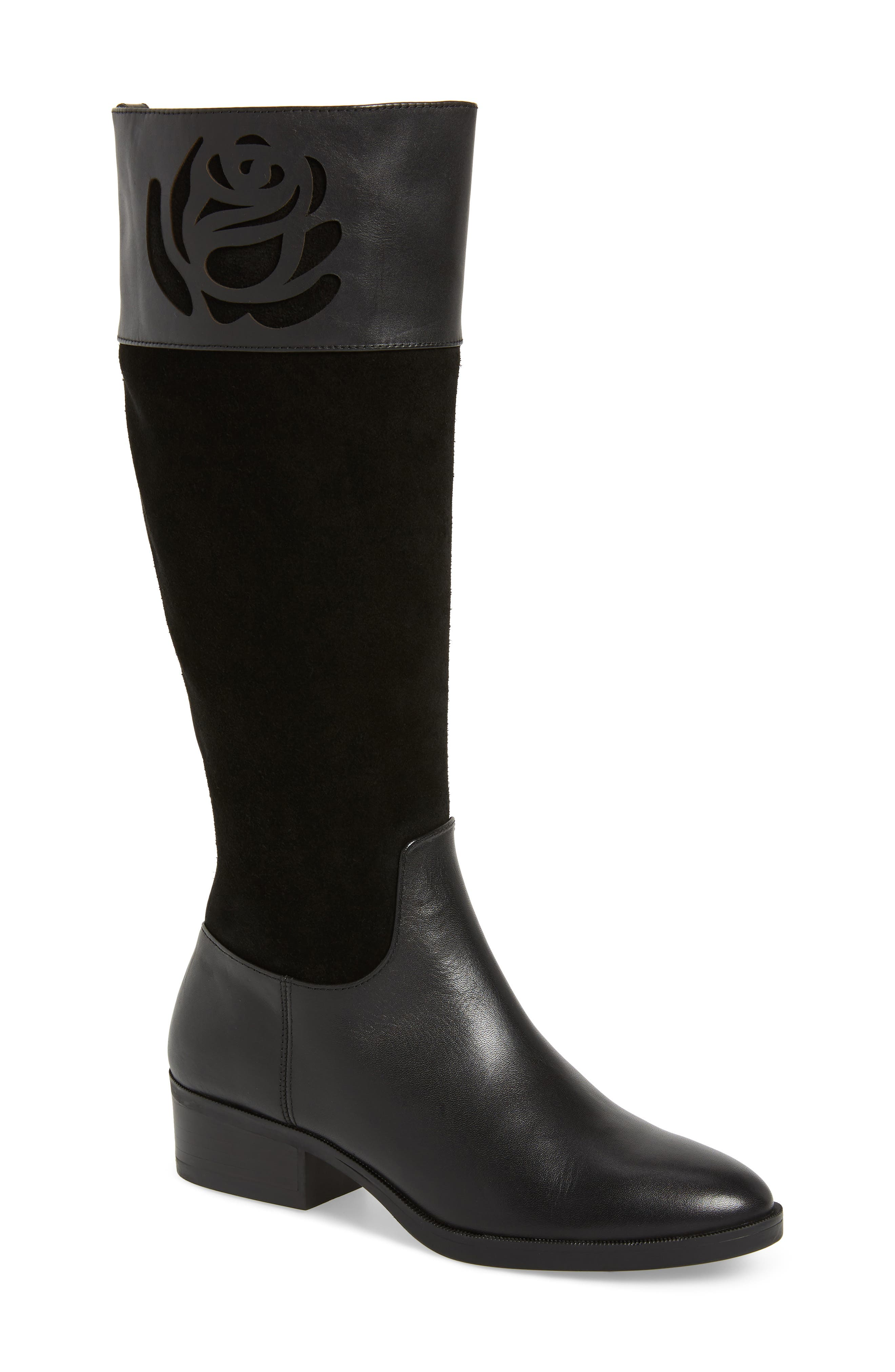 Taryn Rose Georgia Water Resistant Collection Boot, Black