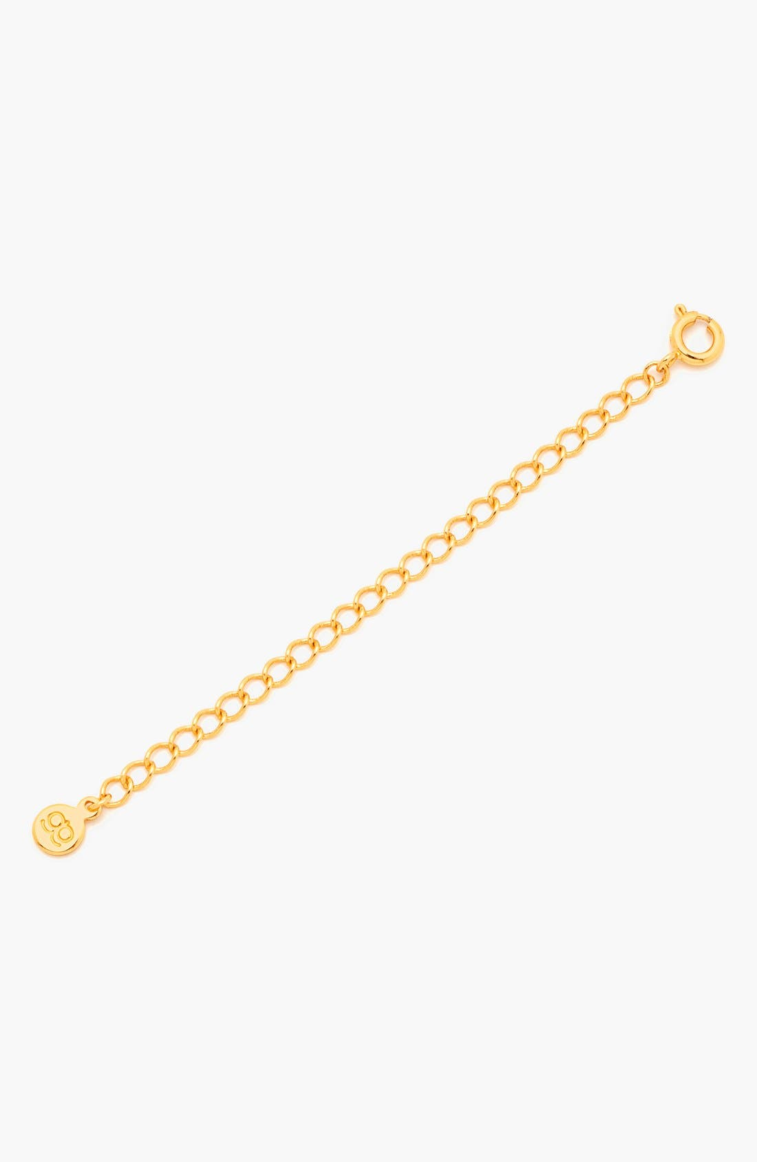 GORJANA Necklace Extender, Main, color, GOLD
