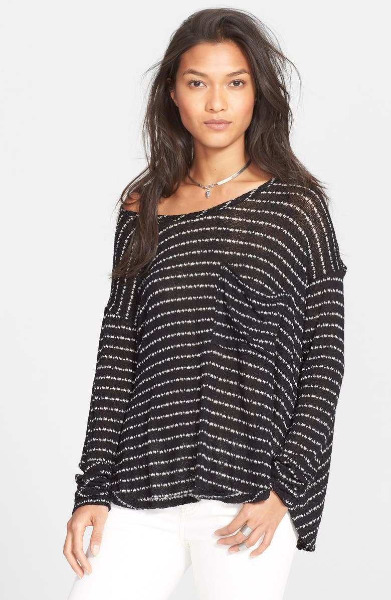 b6314c971d Free People  Angel Island  Stripe Hacci Sweater