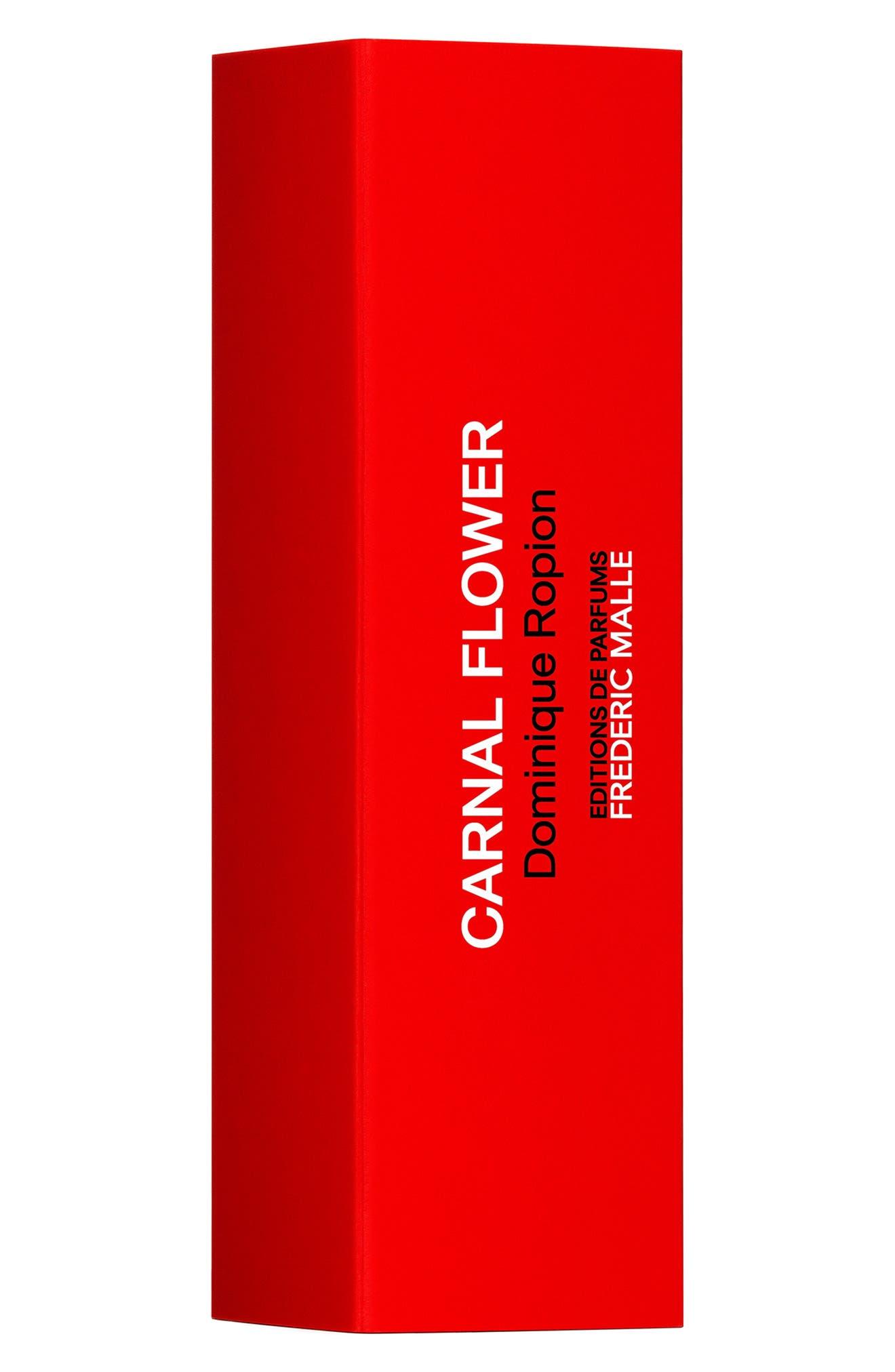 FREDERIC MALLE, Editions de Parfums Frédéric Malle Carnal Flower Travel Parfum Spray, Alternate thumbnail 2, color, NO COLOR