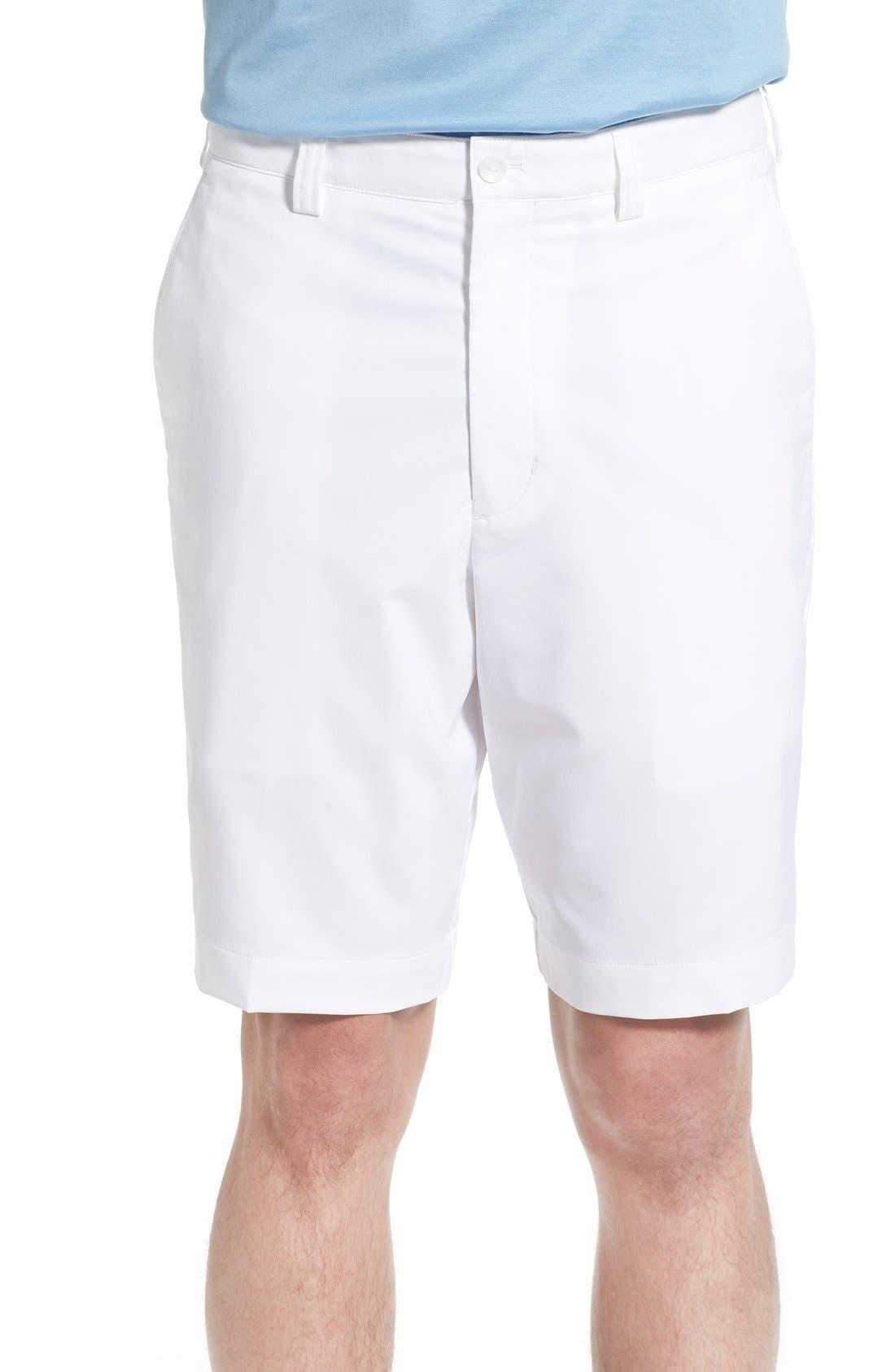 CUTTER & BUCK, DryTec Shorts, Main thumbnail 1, color, WHITE