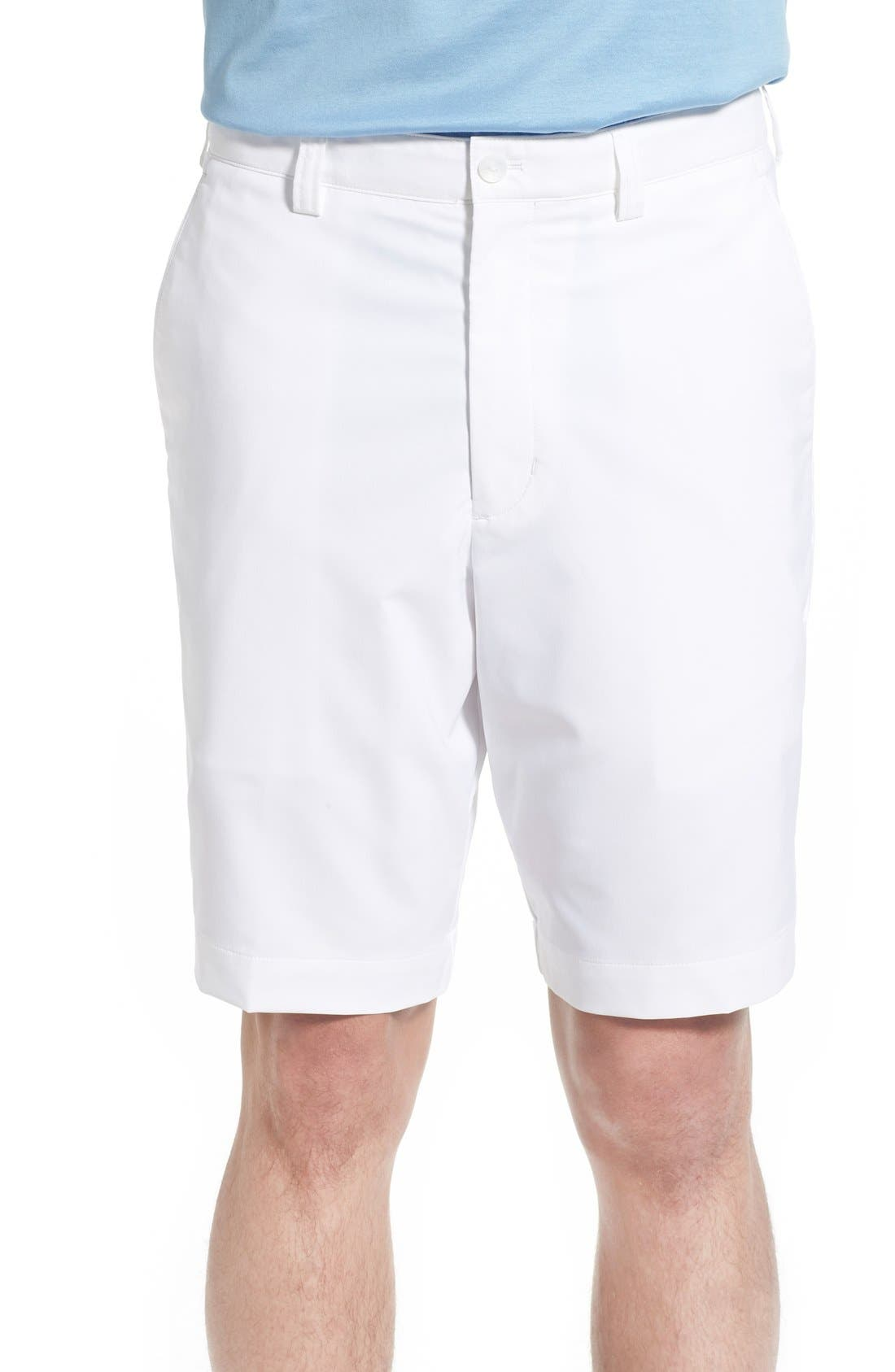 CUTTER & BUCK DryTec Shorts, Main, color, WHITE