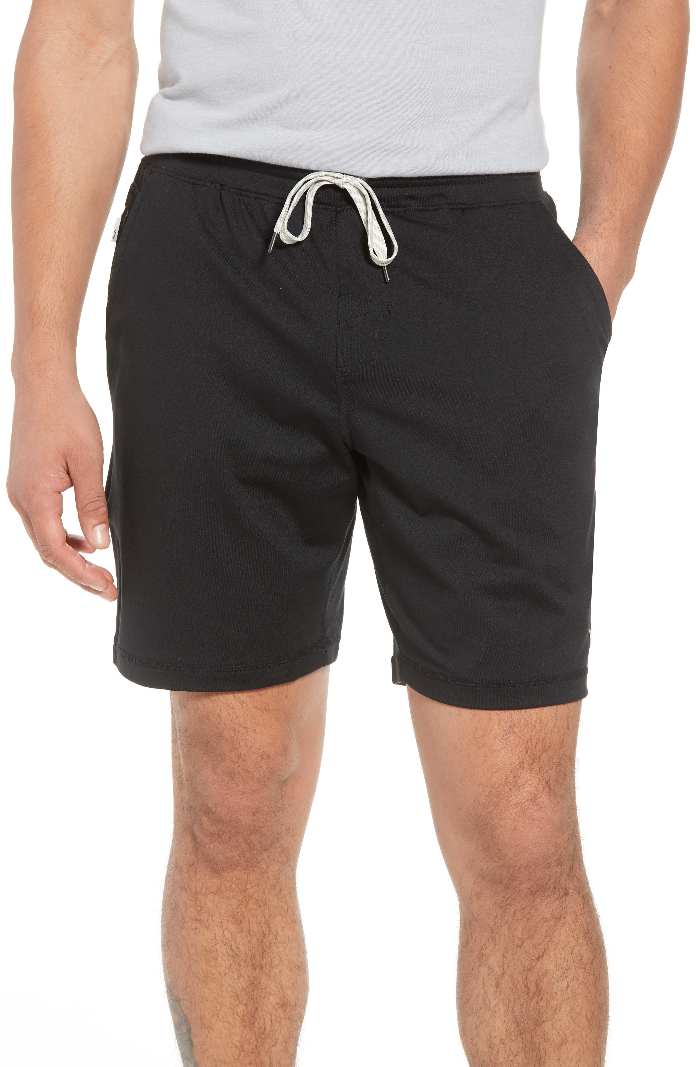 VUORI Ponto Shorts, Main, color, BLACK