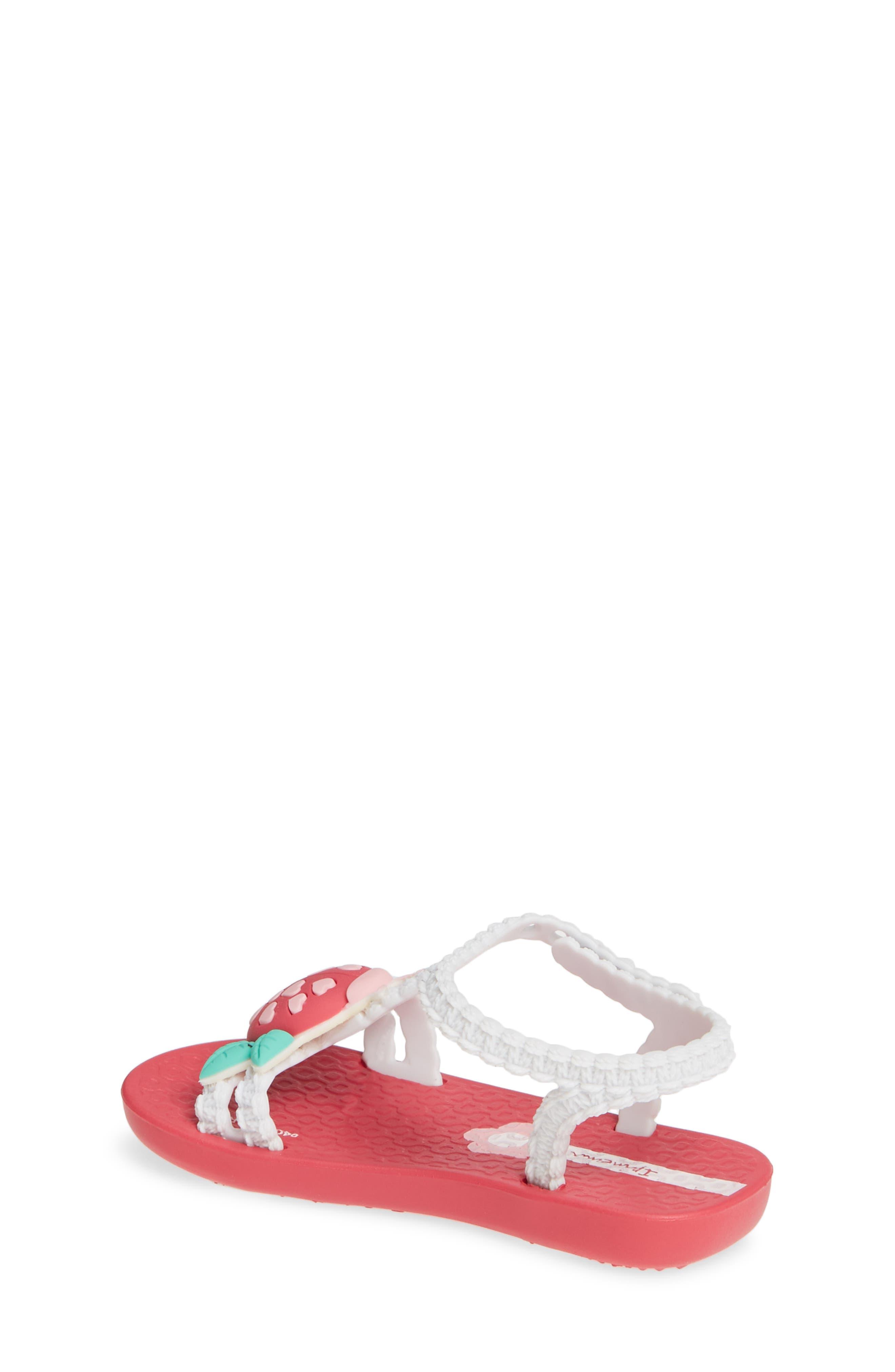 IPANEMA, Buggy Baby Sandal, Alternate thumbnail 2, color, PINK/ WHITE