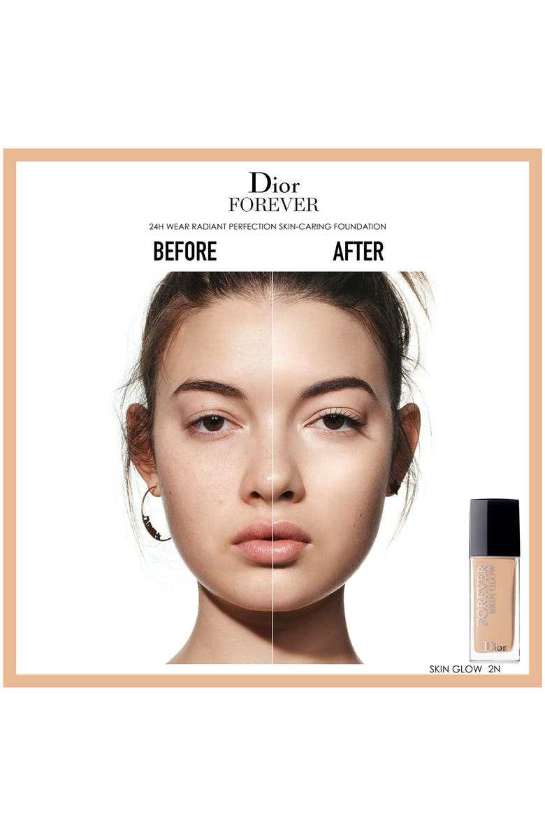 Dior Forever Skin Glow 24H* Wear Radiant Perfection Skin-Caring Foundation 2 Warm 1 Oz/ 30 Ml