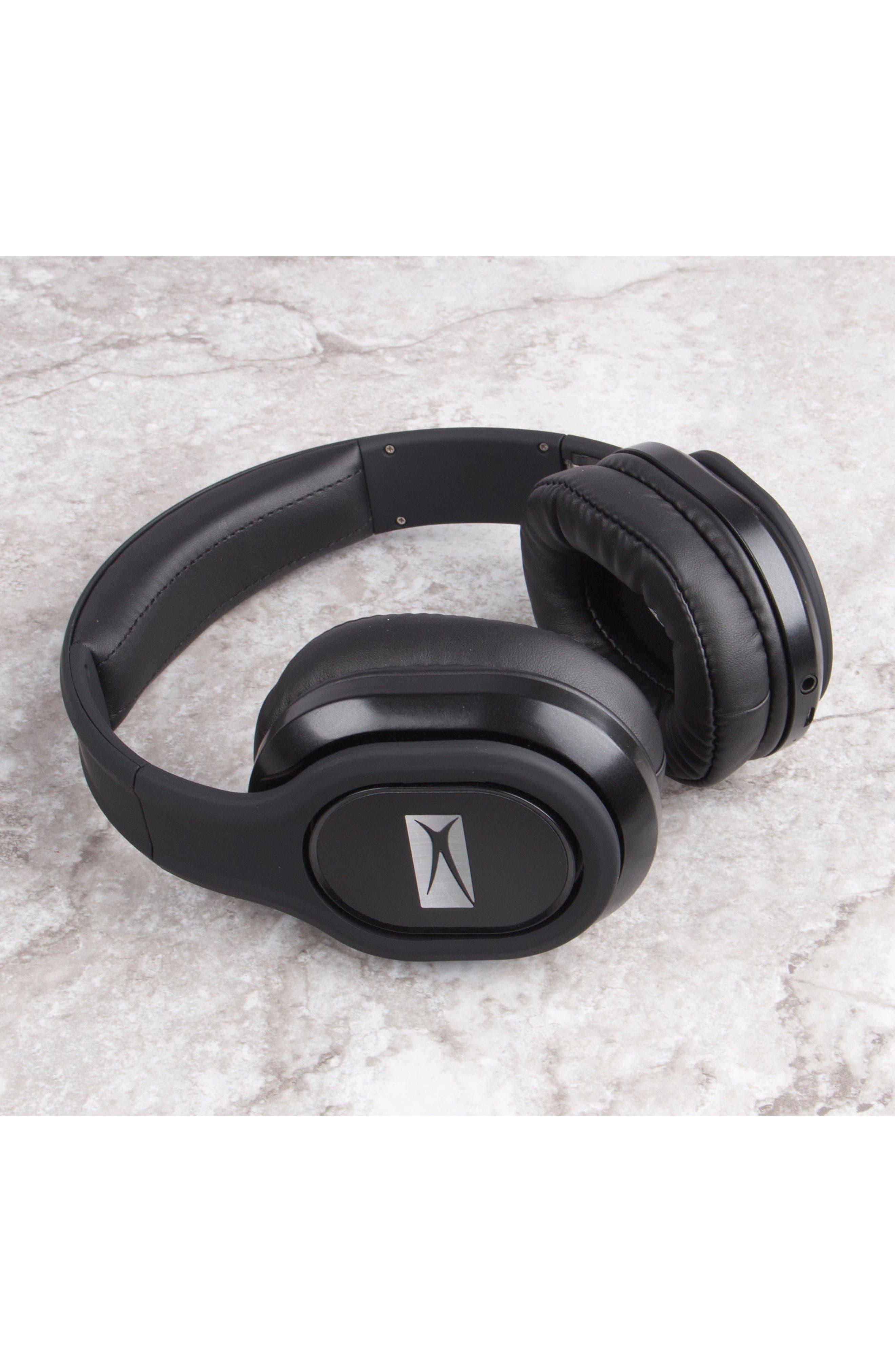 ALTEC LANSING, Evolution 2 Wireless Headphones, Alternate thumbnail 4, color, BLACK