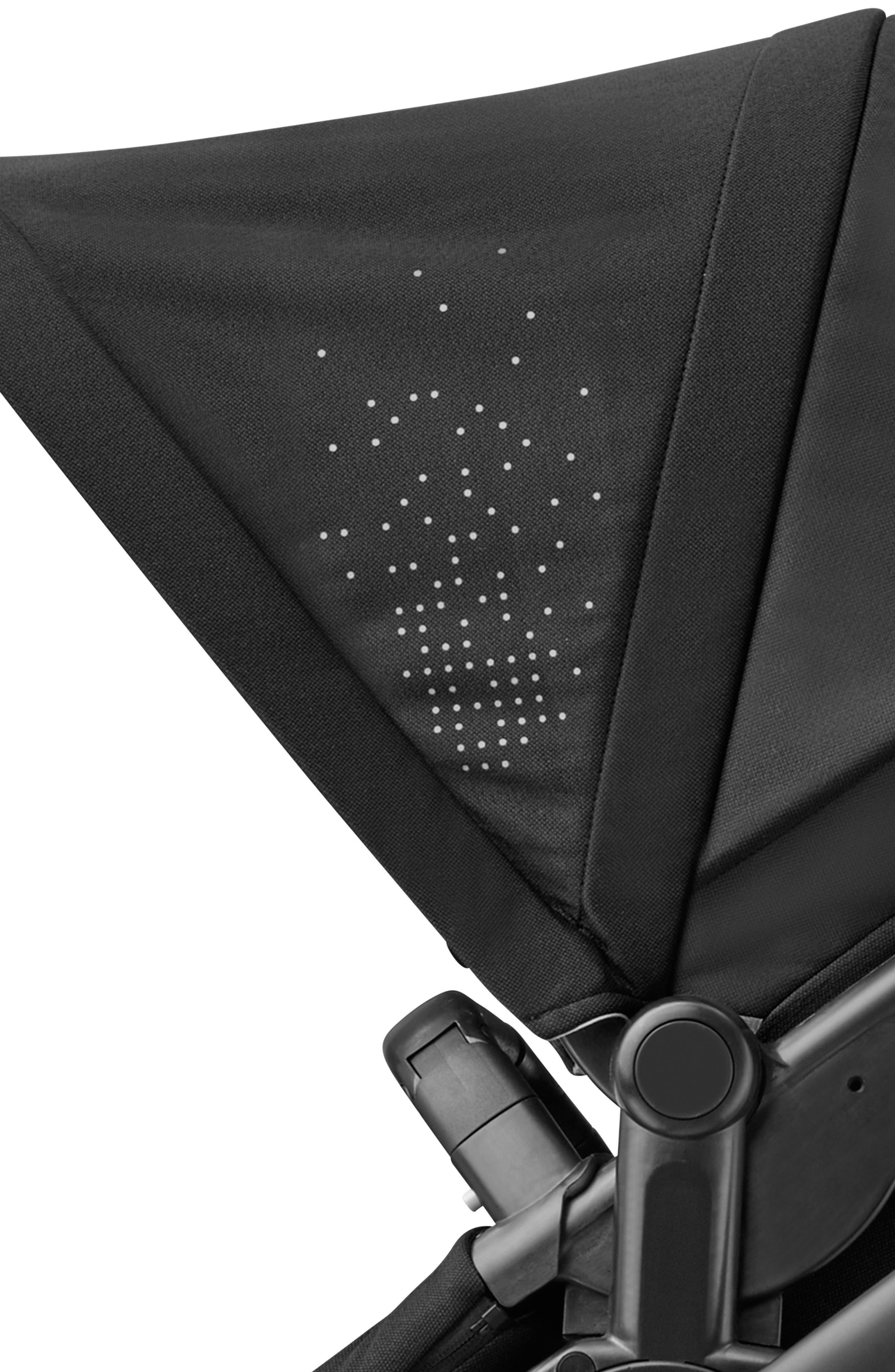 MAXI-COSI<SUP>®</SUP>, Lila Modular Stroller, Alternate thumbnail 4, color, NOMAD BLACK