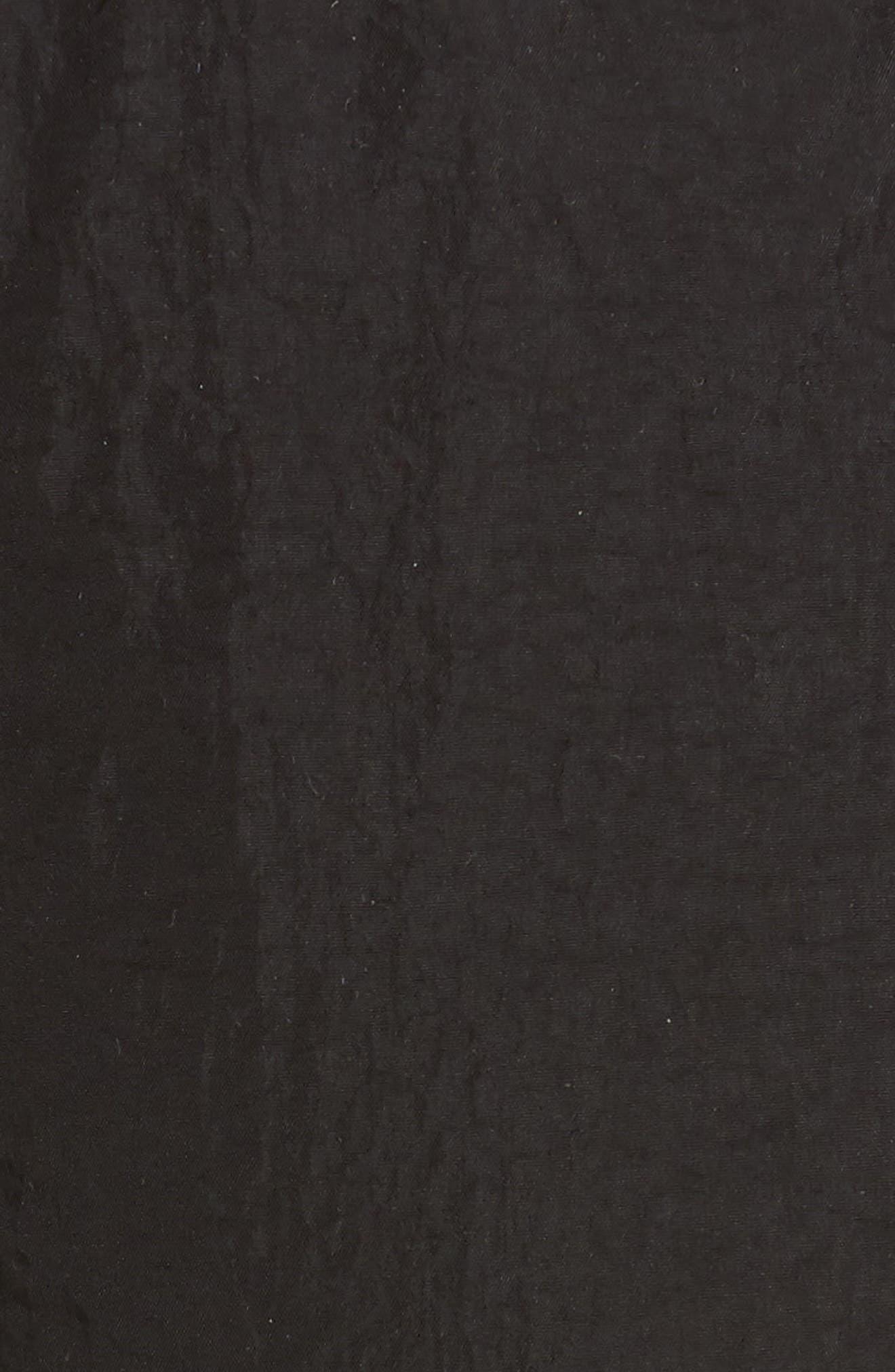 PROENZA SCHOULER, PSWL Drawstring Waist Parachute Pants, Alternate thumbnail 5, color, BLACK