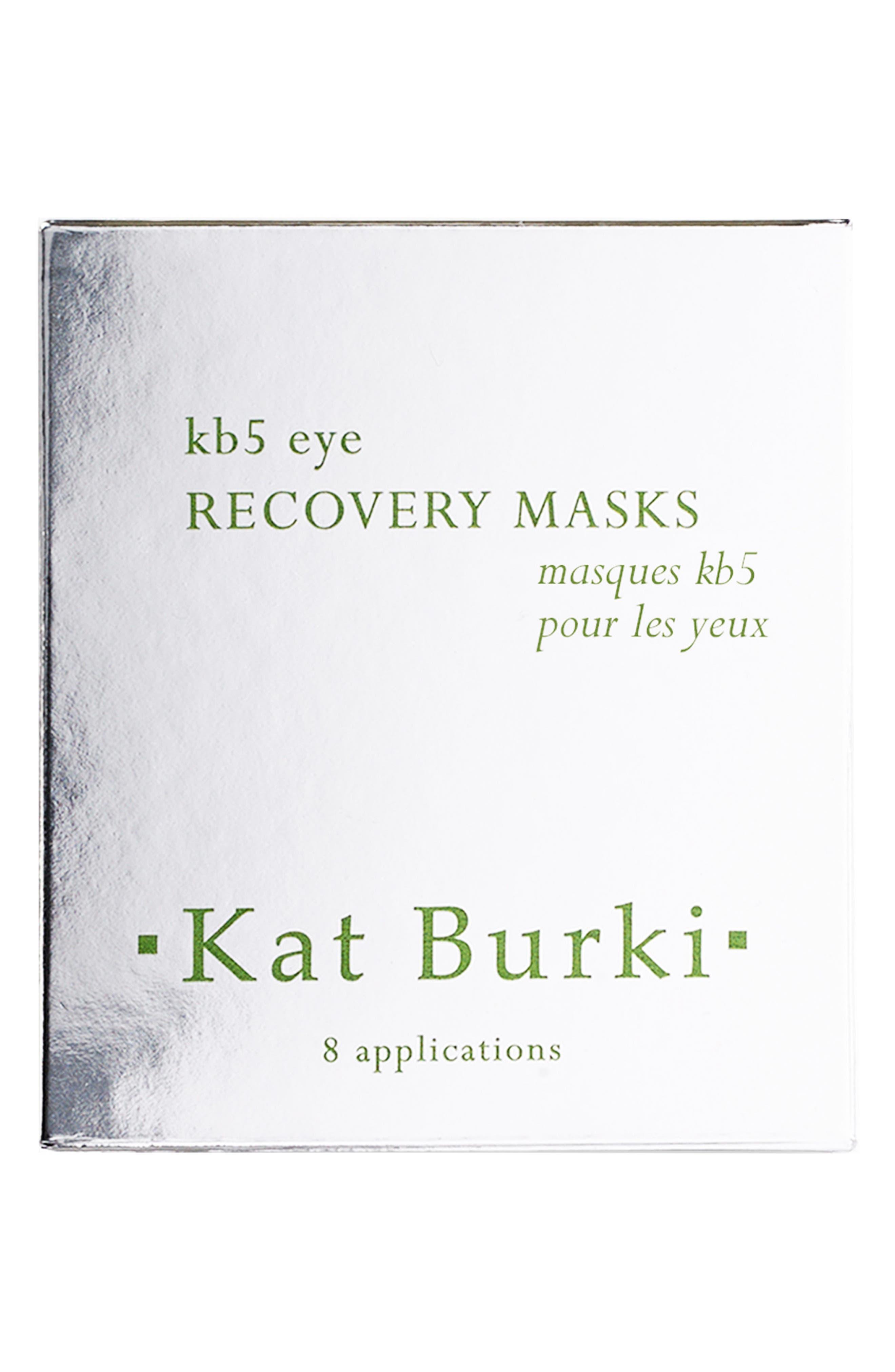 KAT BURKI, SPACE.NK.apothecary Kat Burki KB5 Eye Recovery Masks, Alternate thumbnail 2, color, NO COLOR