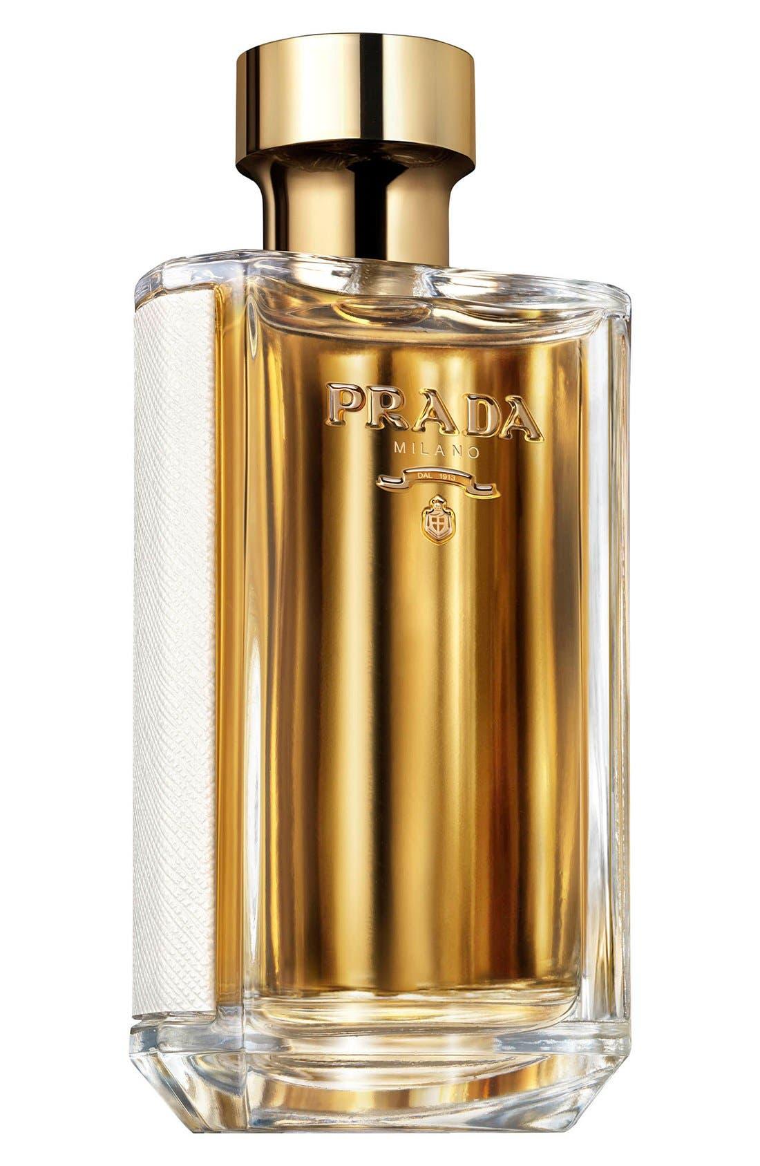 PRADA, La Femme Prada Eau de Parfum, Main thumbnail 1, color, NO COLOR